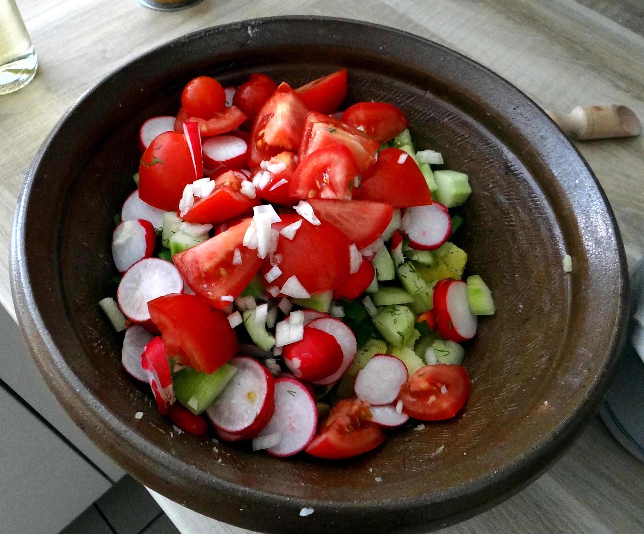 Mediterraner Kartoffelsalat,Bratwurst (9)