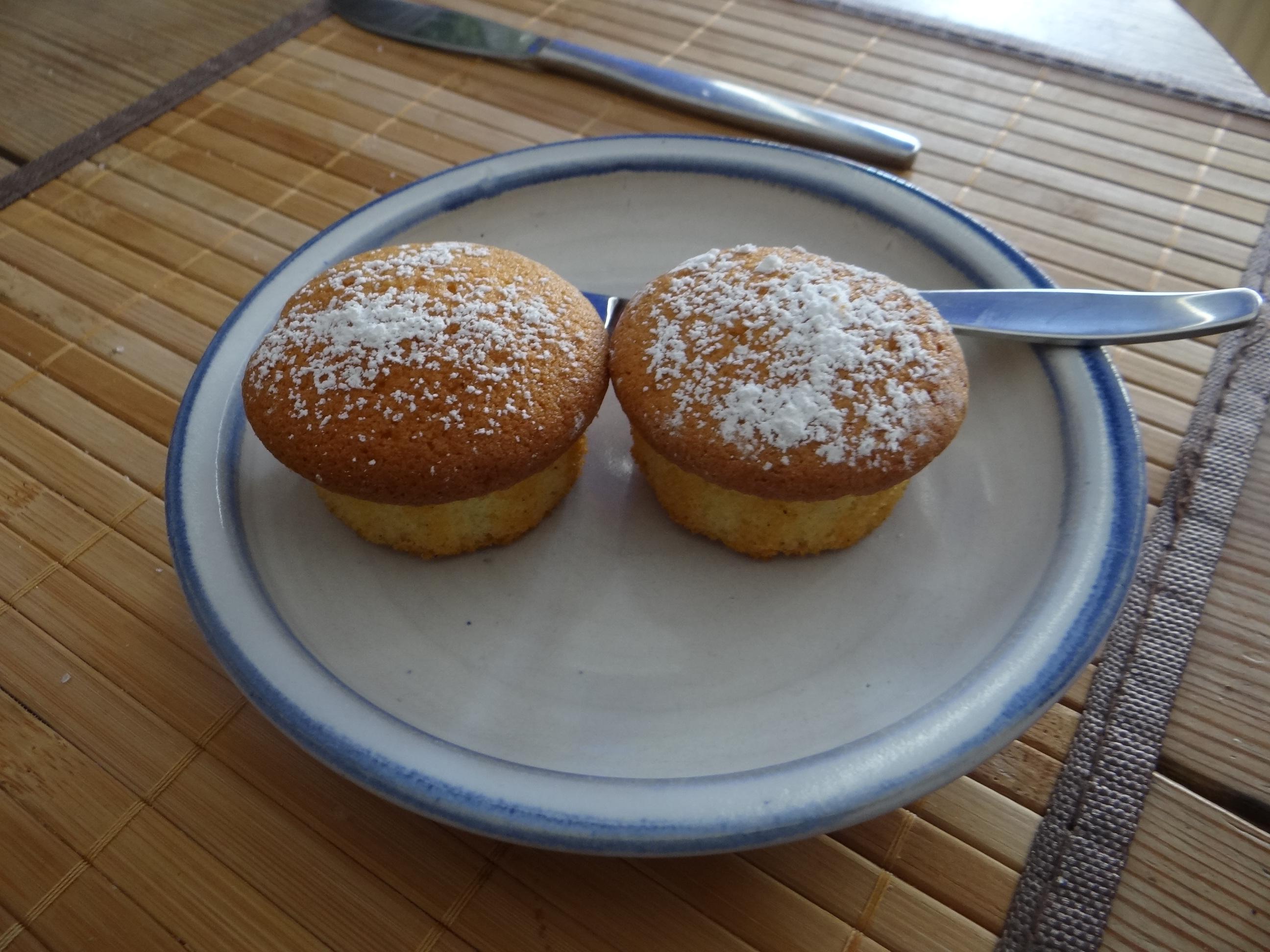 Rohgebratene Kartoffeln,Guacamole,Kohlrabisalat,Zitronenmuffins, , (24)