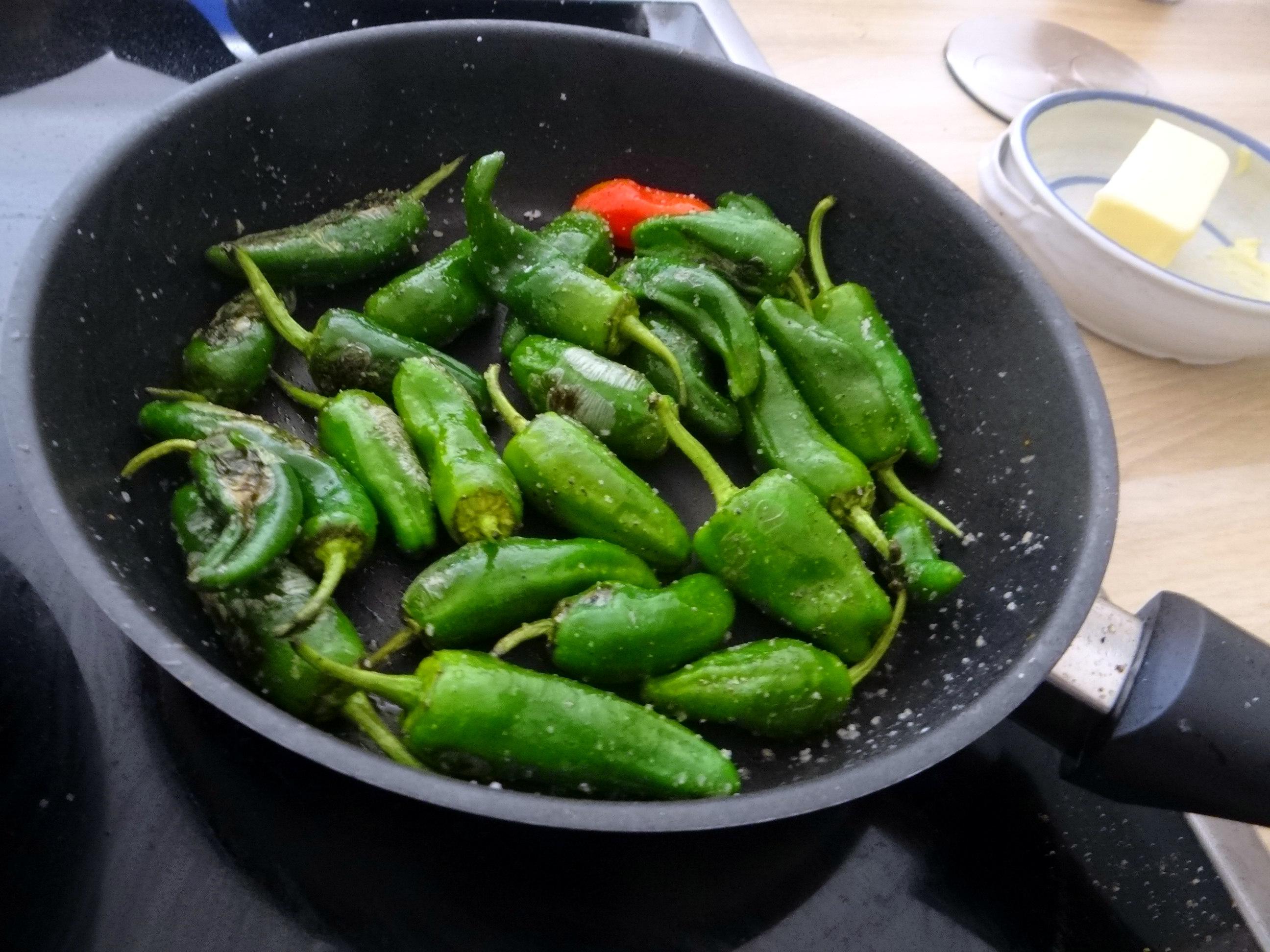 Shitake,Polenta,Pimientos,Salat, (18)