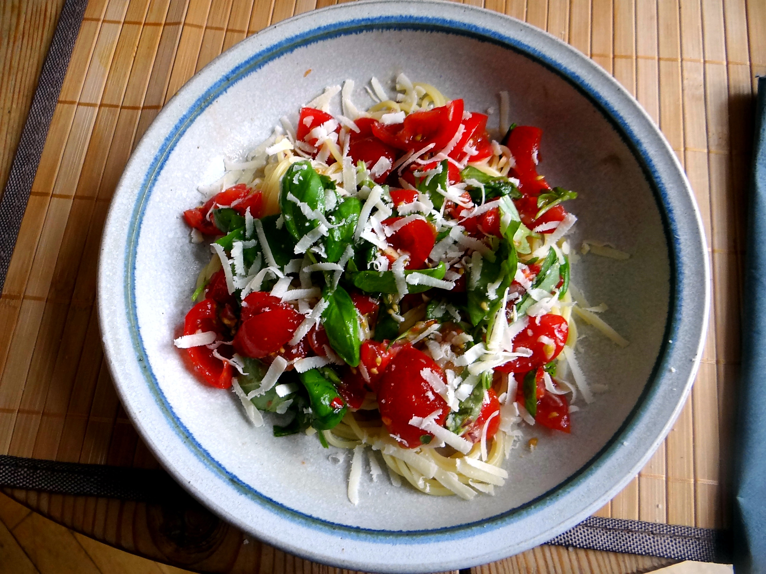 Spaghetti mit Keka,Waffeln (1)