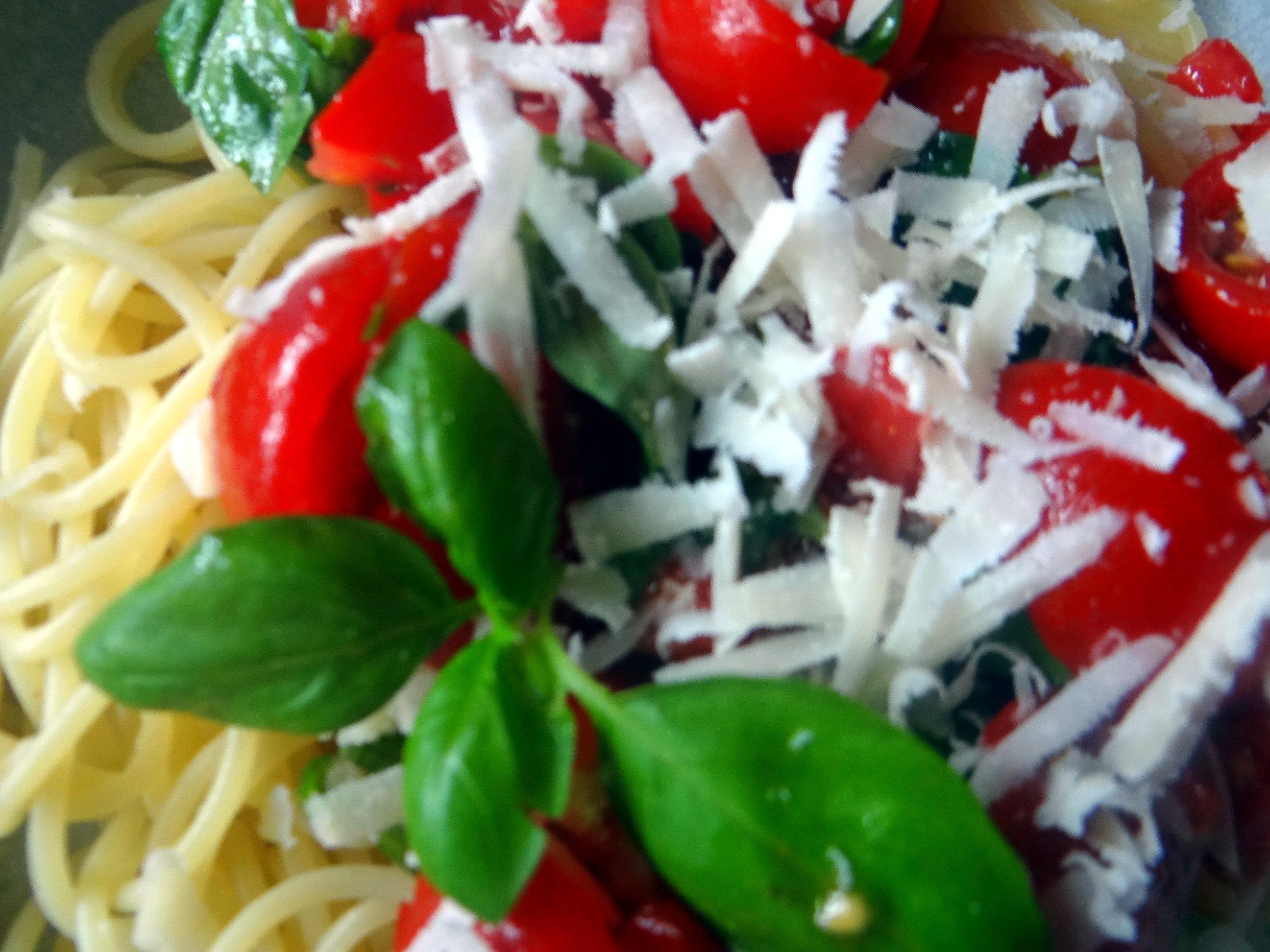 Spaghetti mit Keka,Waffeln (12)