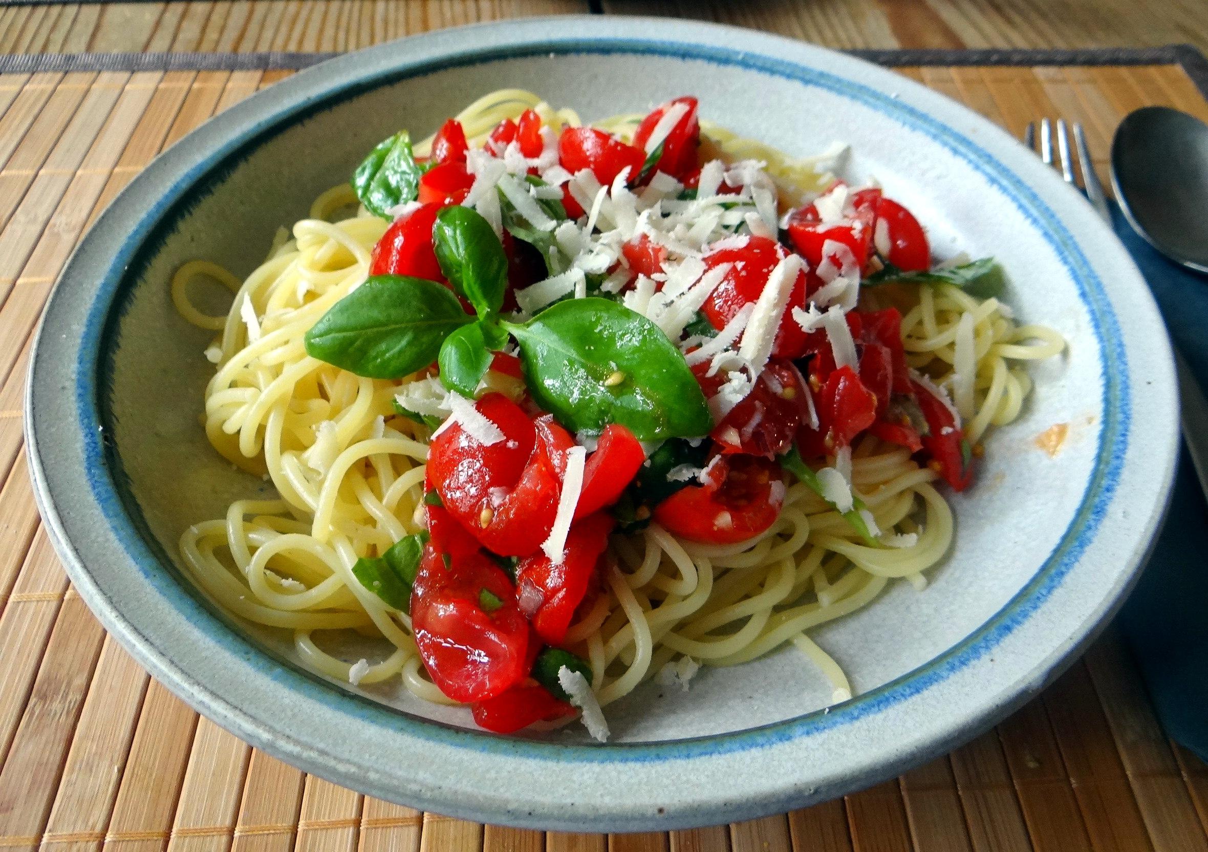 Spaghetti mit Keka,Waffeln (13)