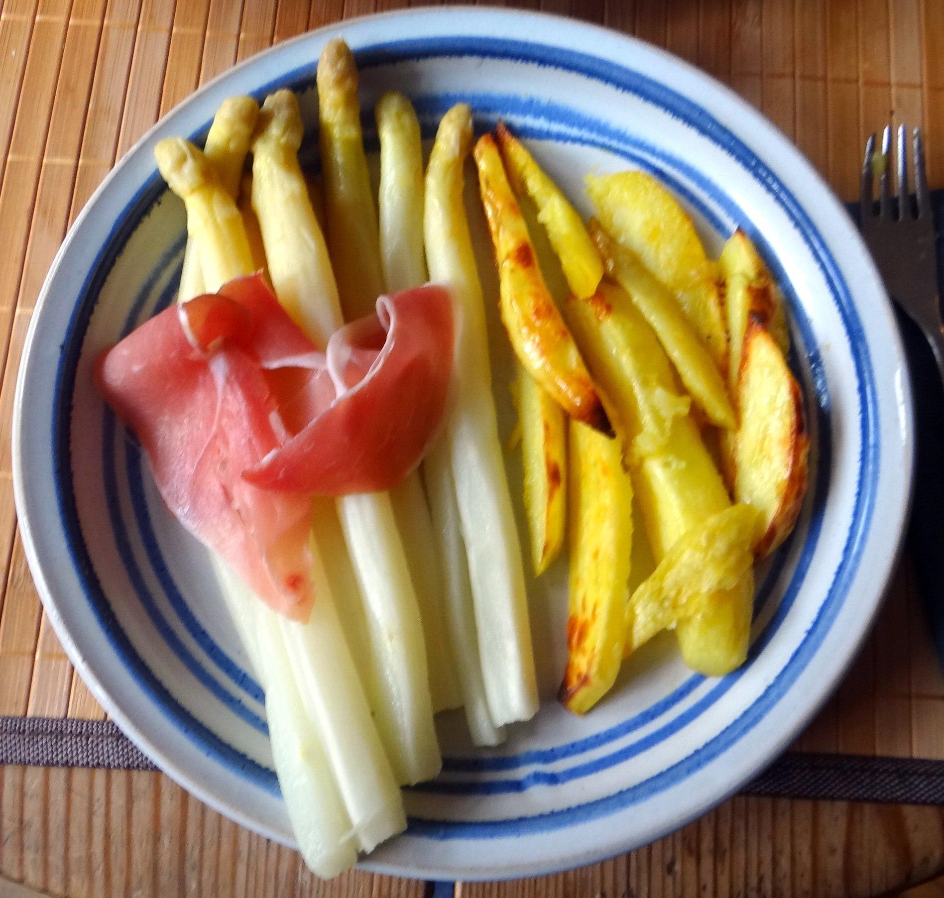 Spargel ,Pommes,Schinken (3)