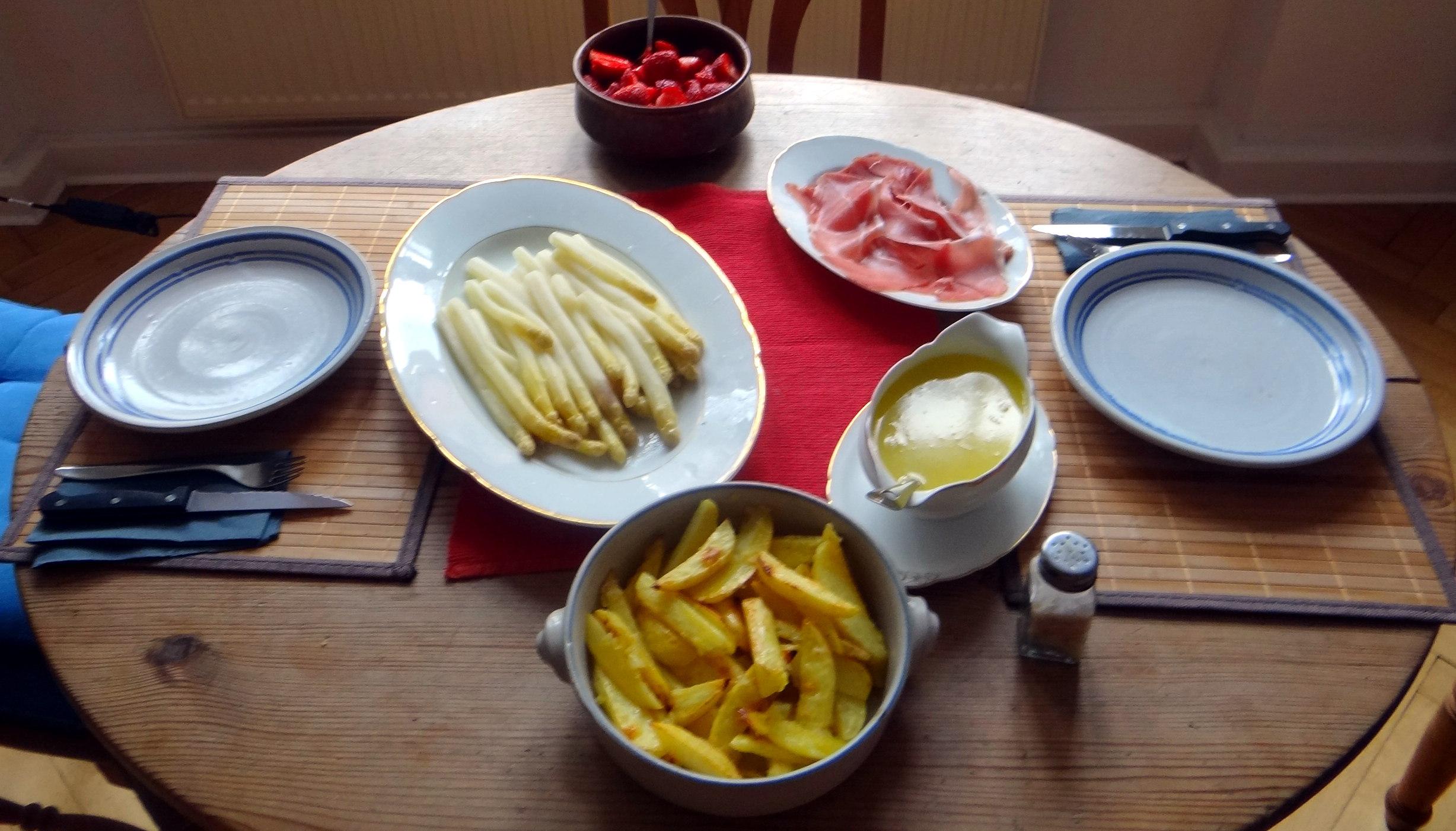 Spargel ,Pommes,Schinken (7)