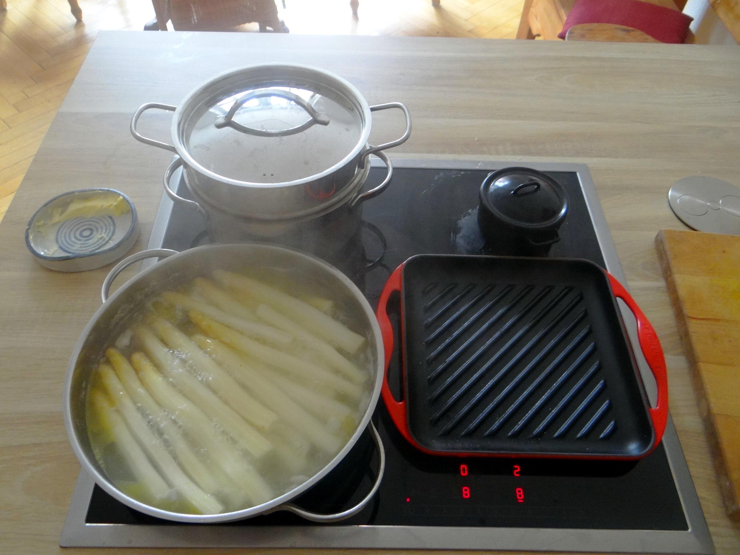 Spargel,Garnelen,Neue Kartoffeln,vegetarisch (8)