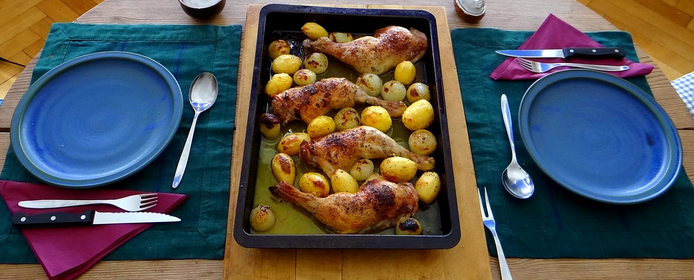 Zitronen-Hähnchenbeine (4)