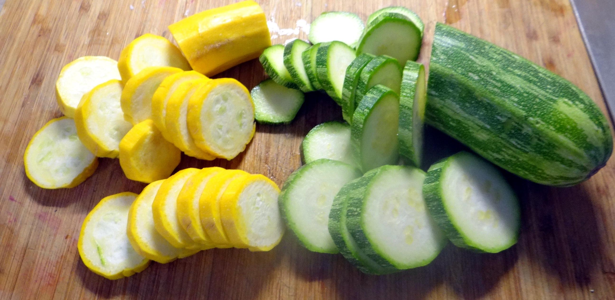 Zucchini Quiche,Quarkspeise, (10)