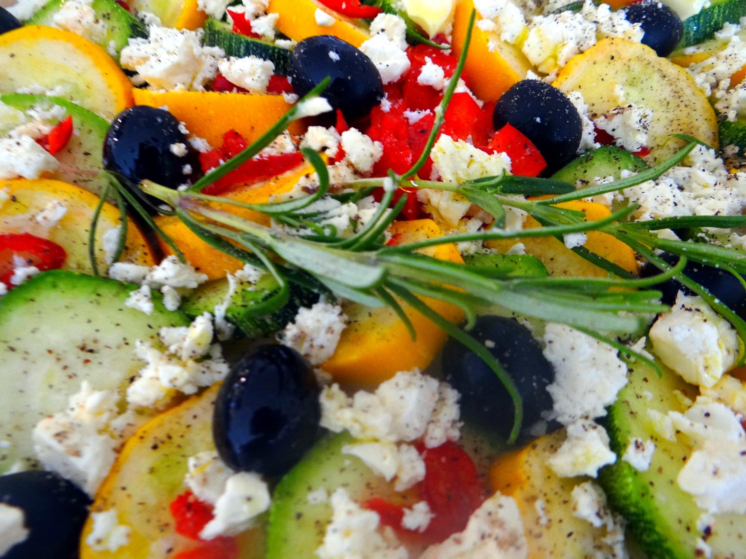 Zucchini Quiche,Quarkspeise, (14)