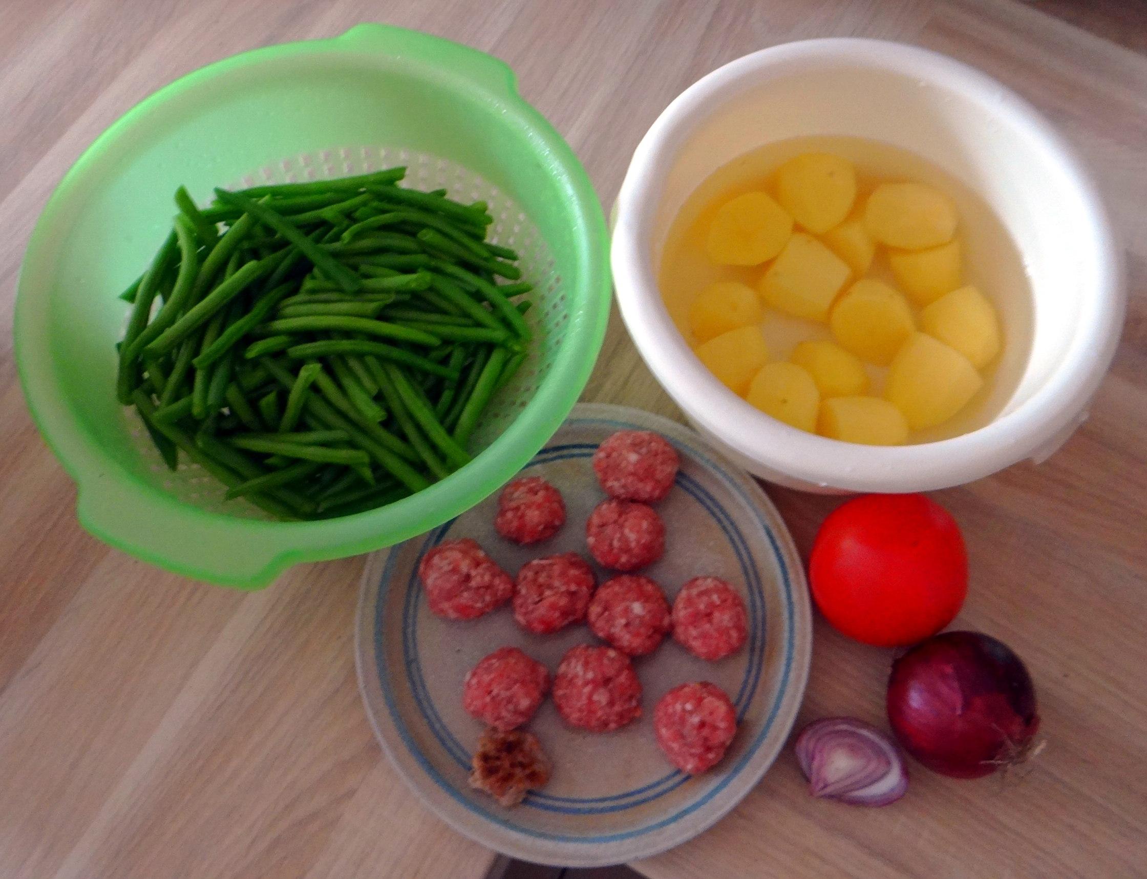 Bohnen Eintopf,Obstteller (7)