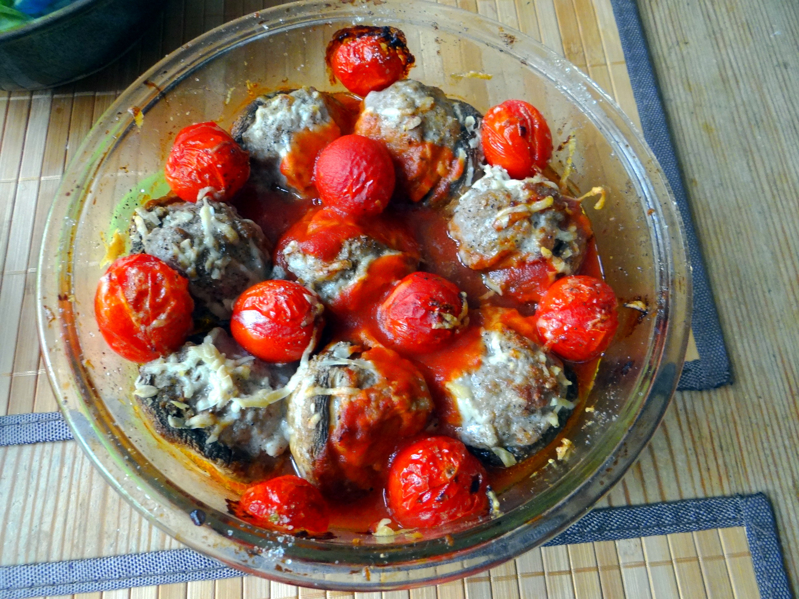 Gefüllte Portobello mit Couscous (10)