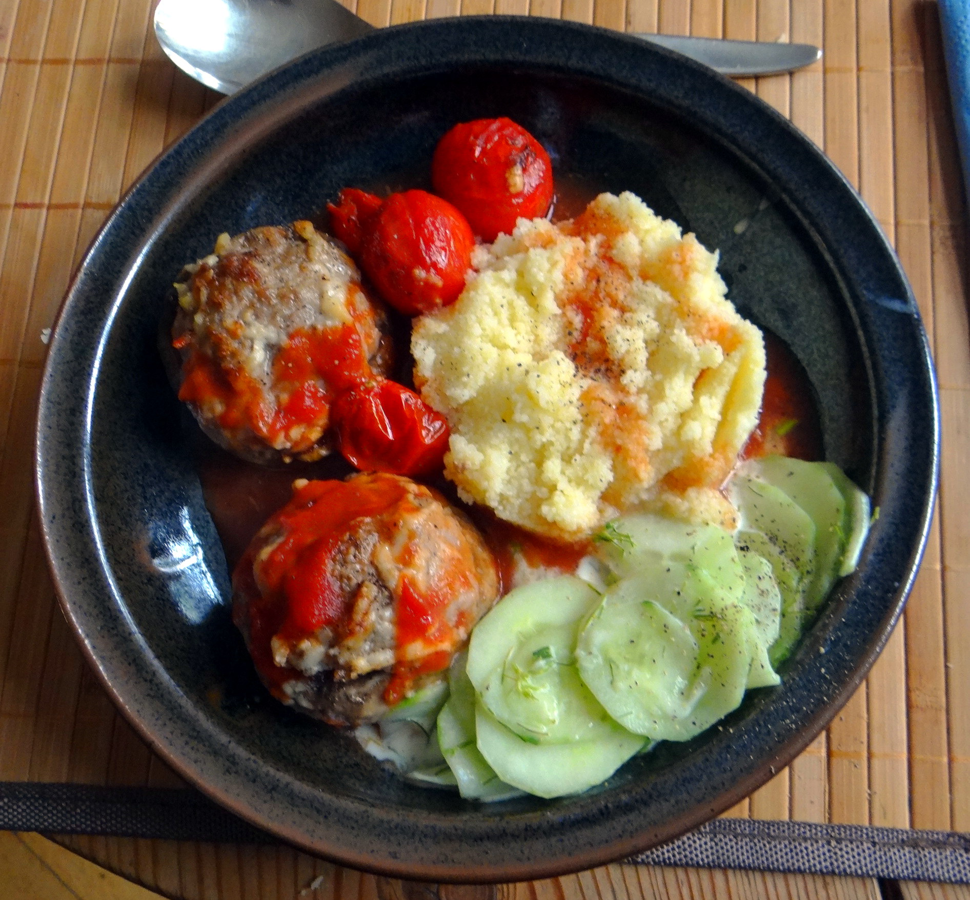 Gefüllte Portobello mit Couscous (15)