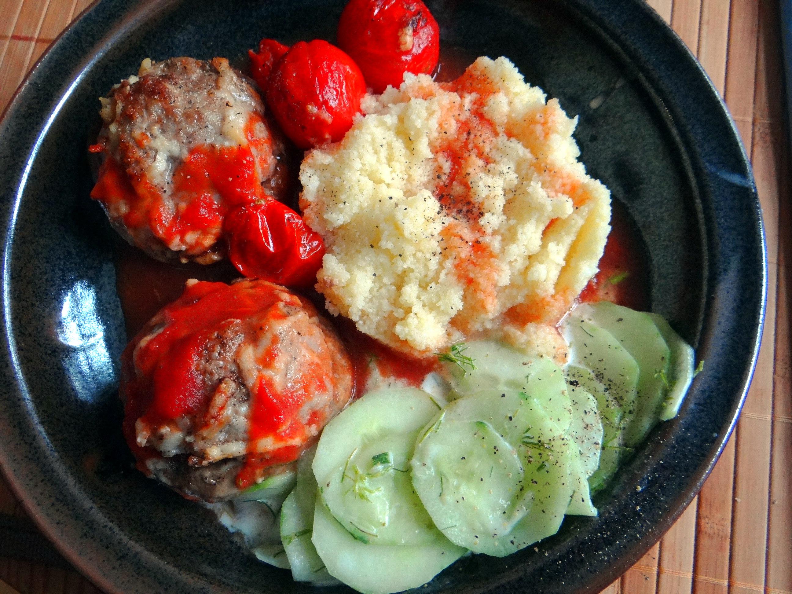 Gefüllte Portobello mit Couscous (16)