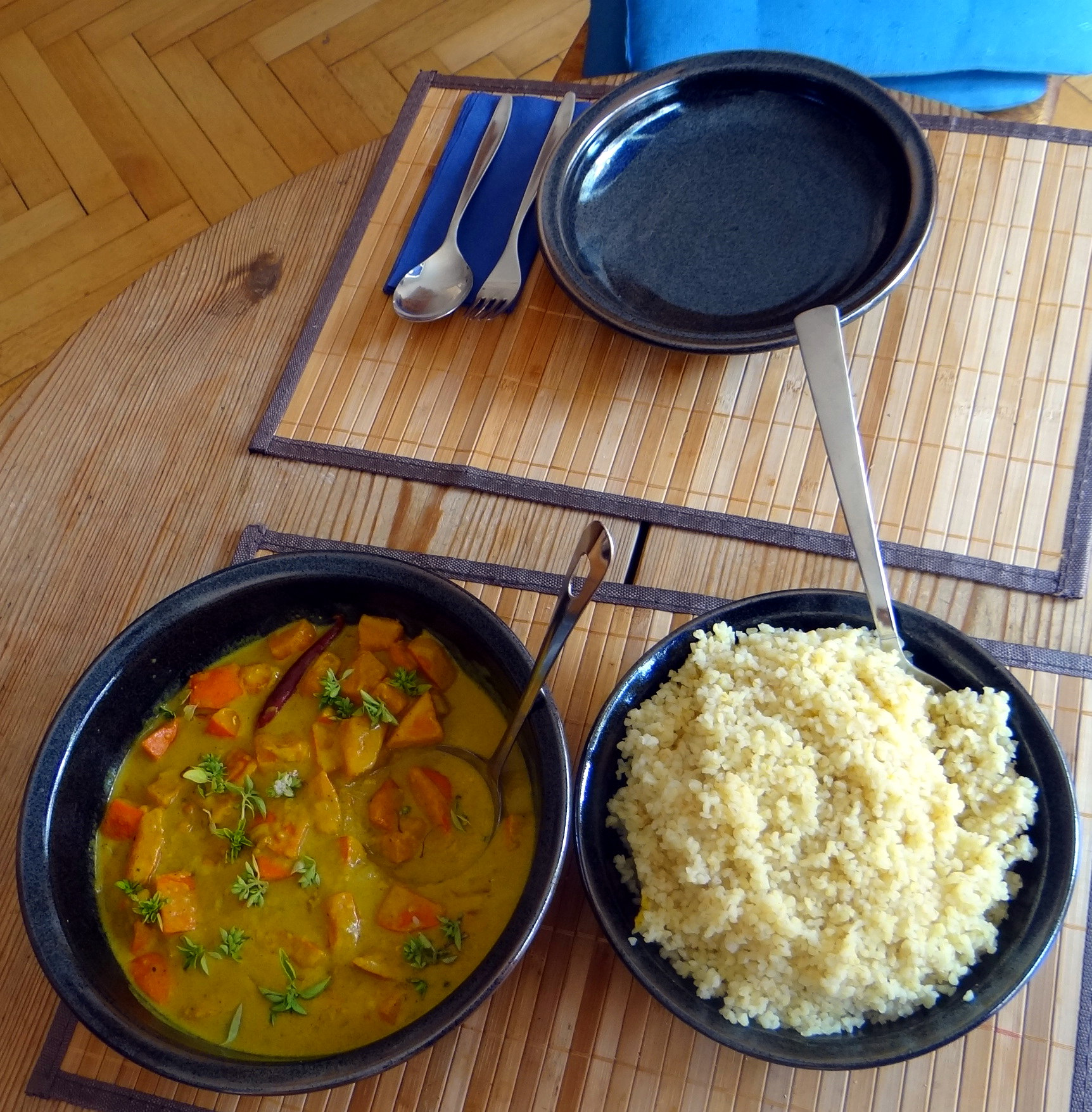 Kübis Curry,Bulgur (4)