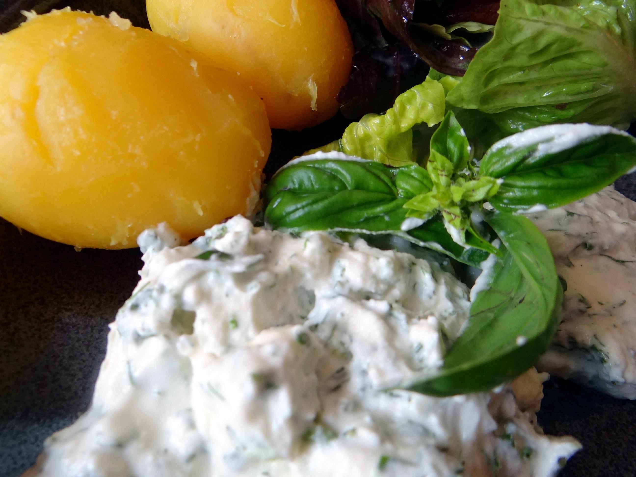 Quark,Kartoffeln,Salat (3)