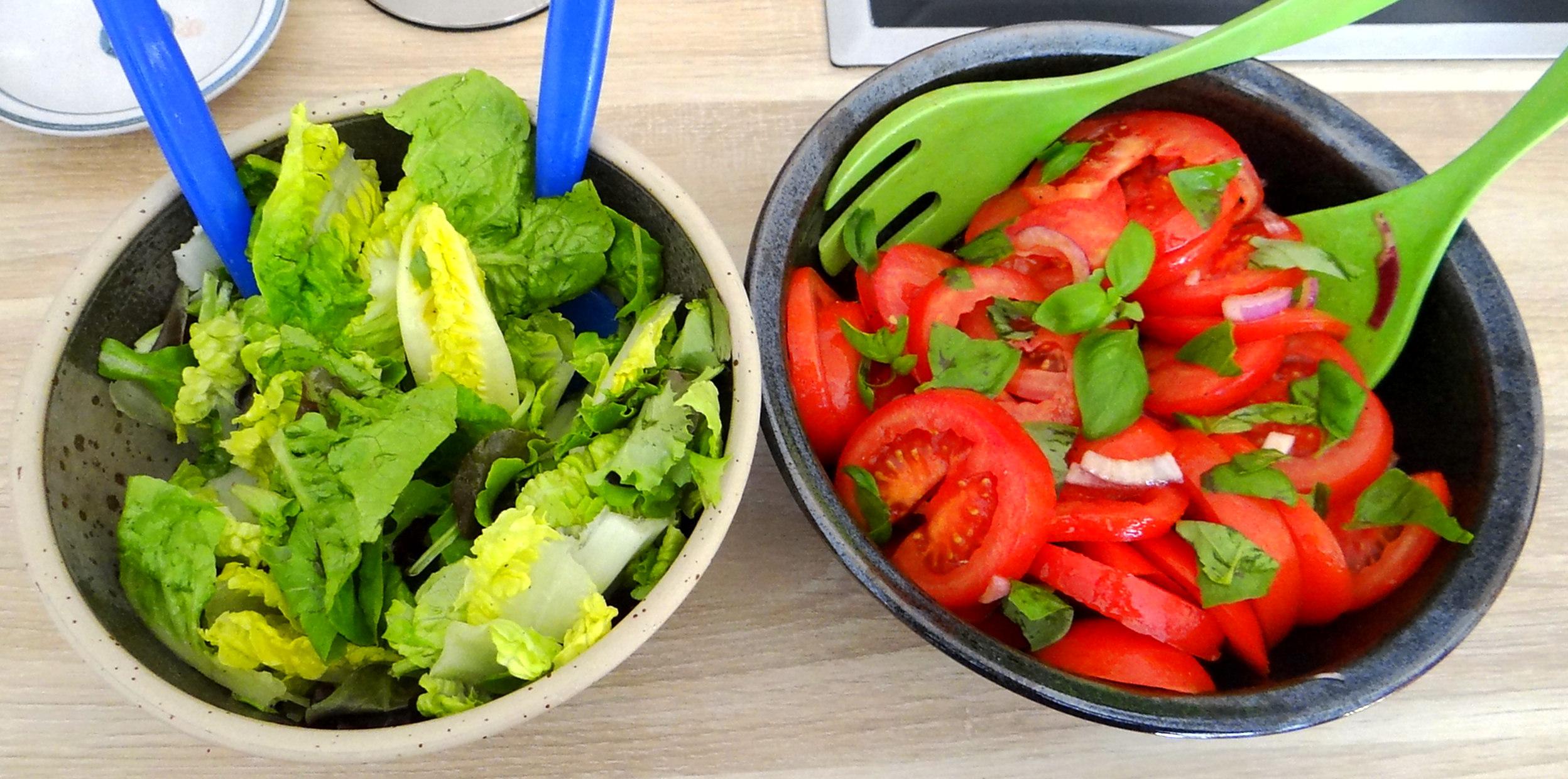 Rigatone,Gorgonzolasauce,Salate (11)