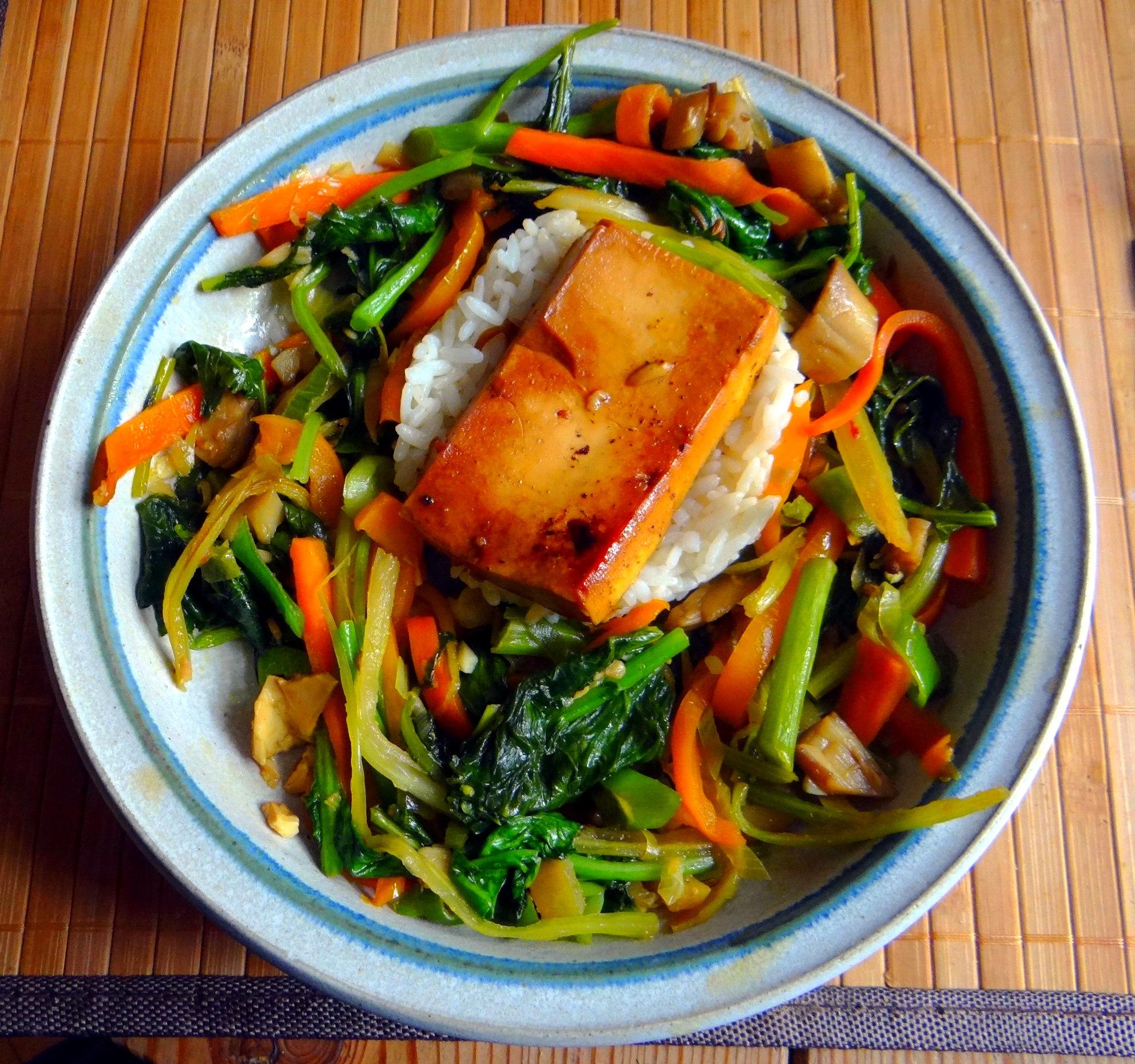Senfgrün,Reis,Tofu,vegan (16)