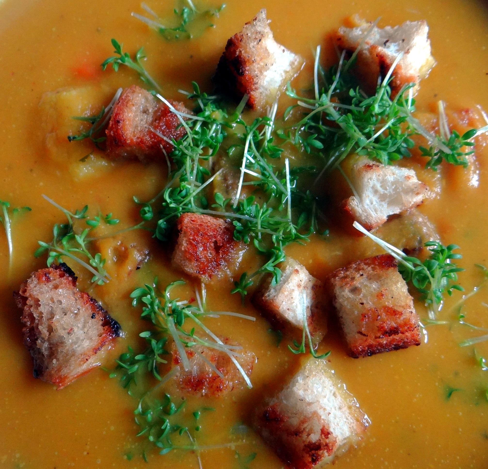 Exotische Süßkartoffelsuppe (3)