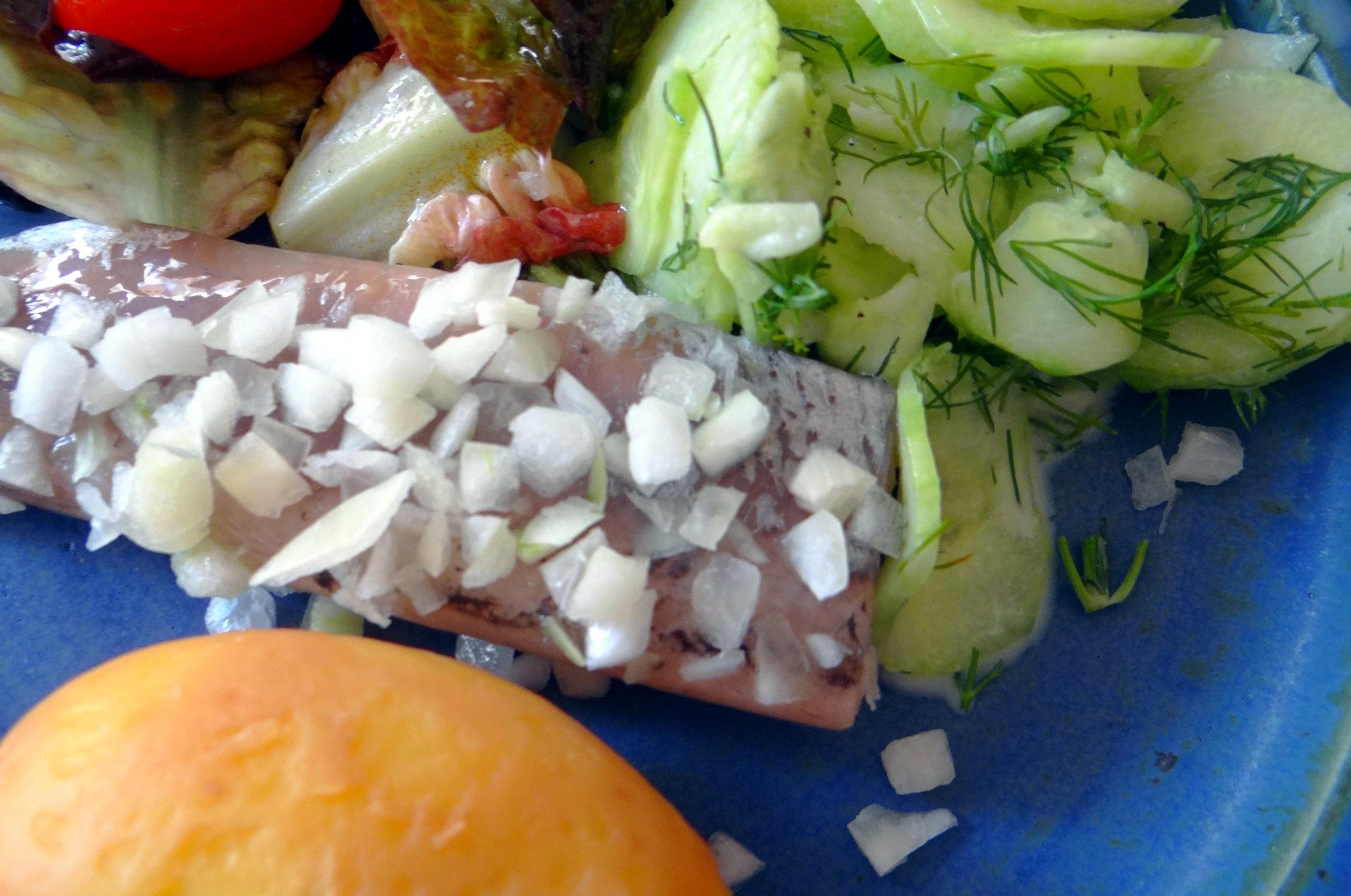 Matjes,Salate,Pellkartoffeln (3)