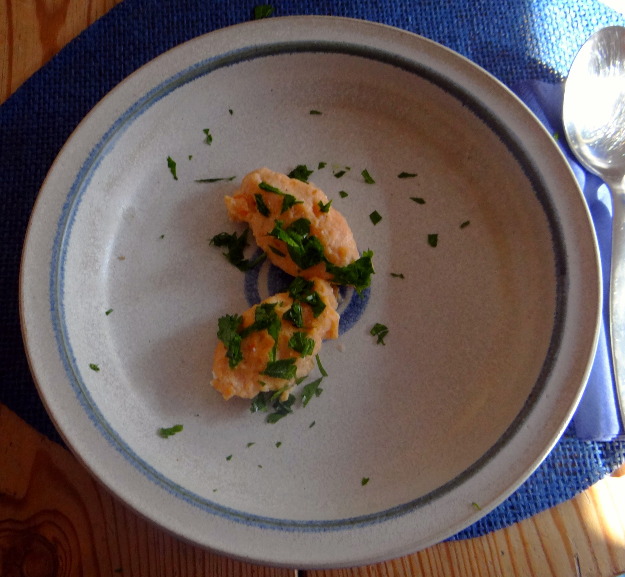 Pastinakensuppe,asiatischer Spinat,Ricotta Nocken (21)