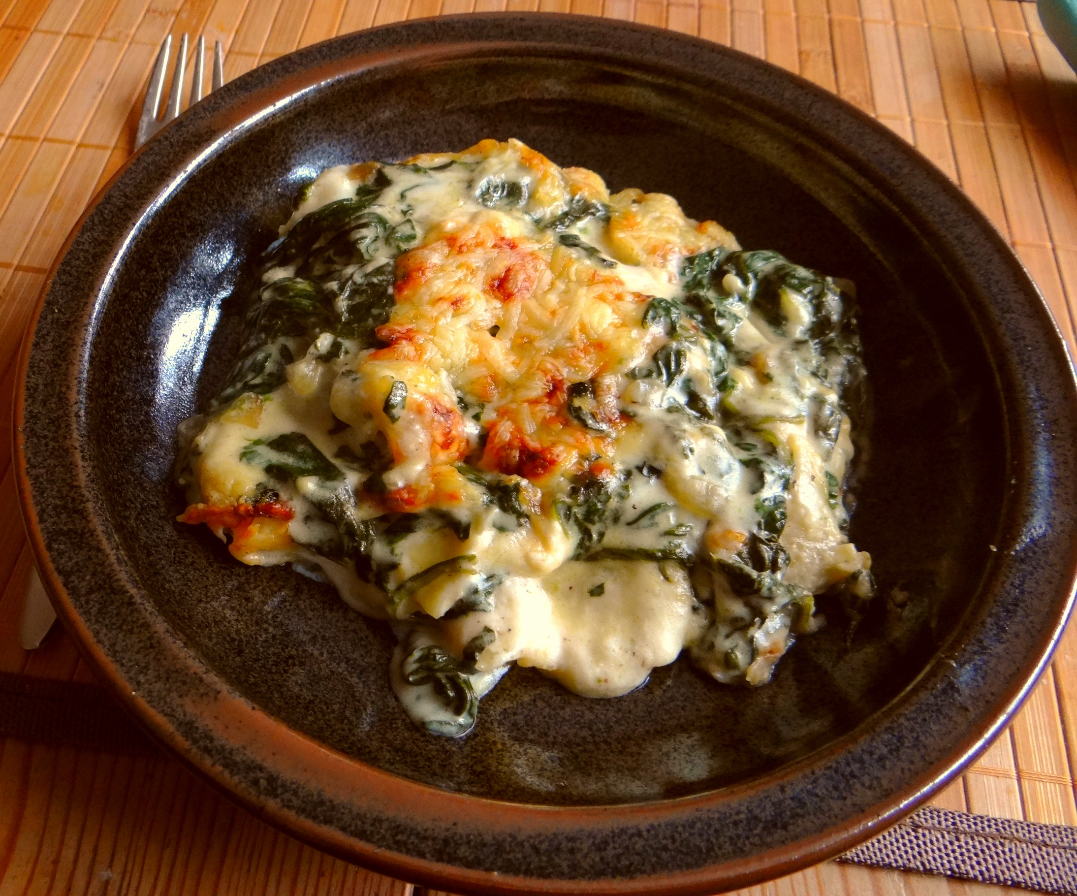 Spinat Lasagne (1)