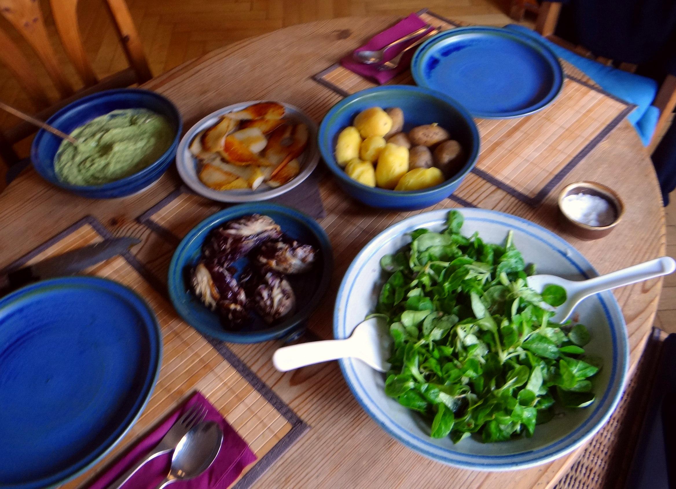 Fetacrem,Kartoffel,Radicchio,Birne,Feldsalat (4)