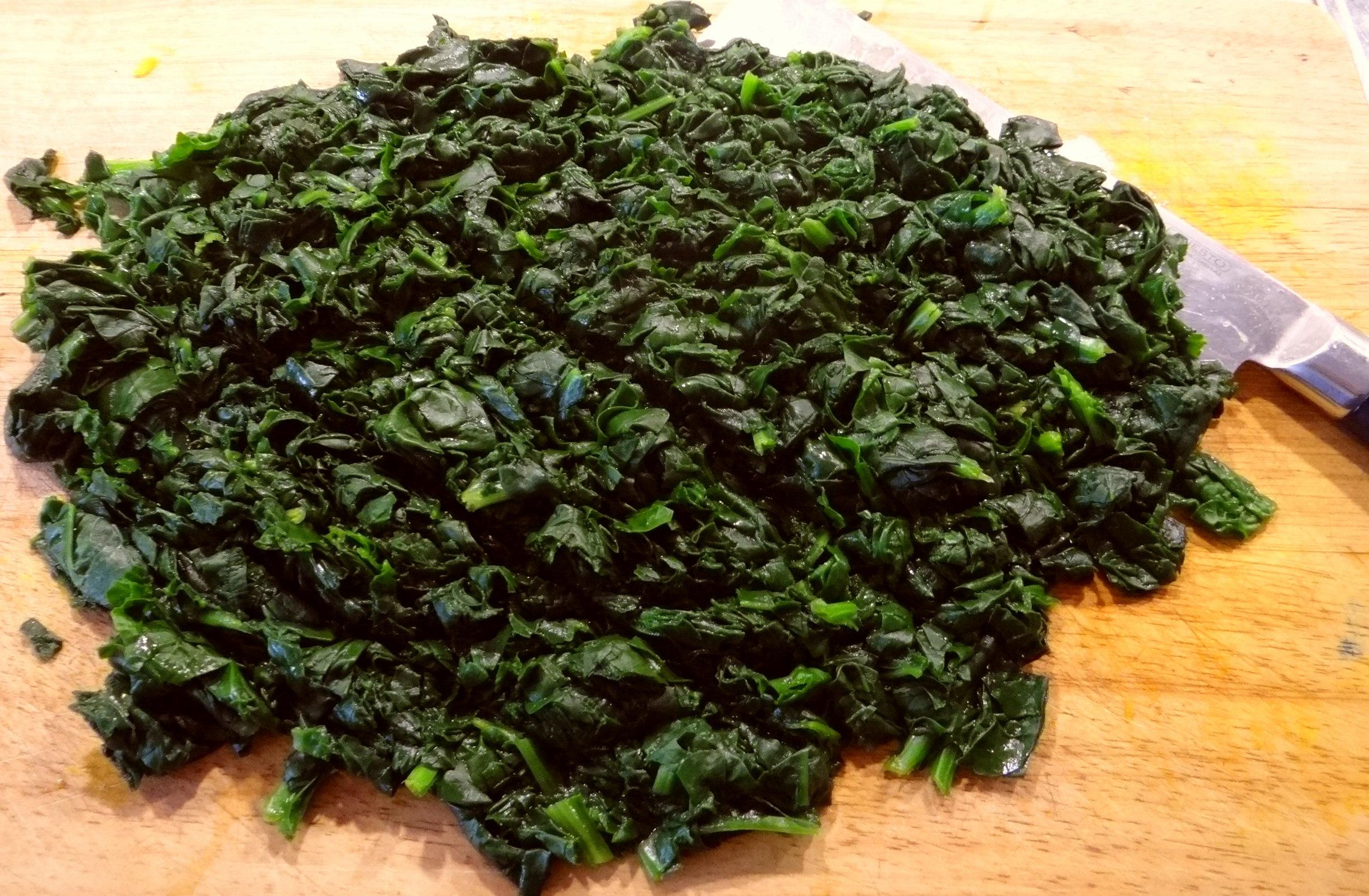 Kürbis-Spinat überbacken,Waffel (8)