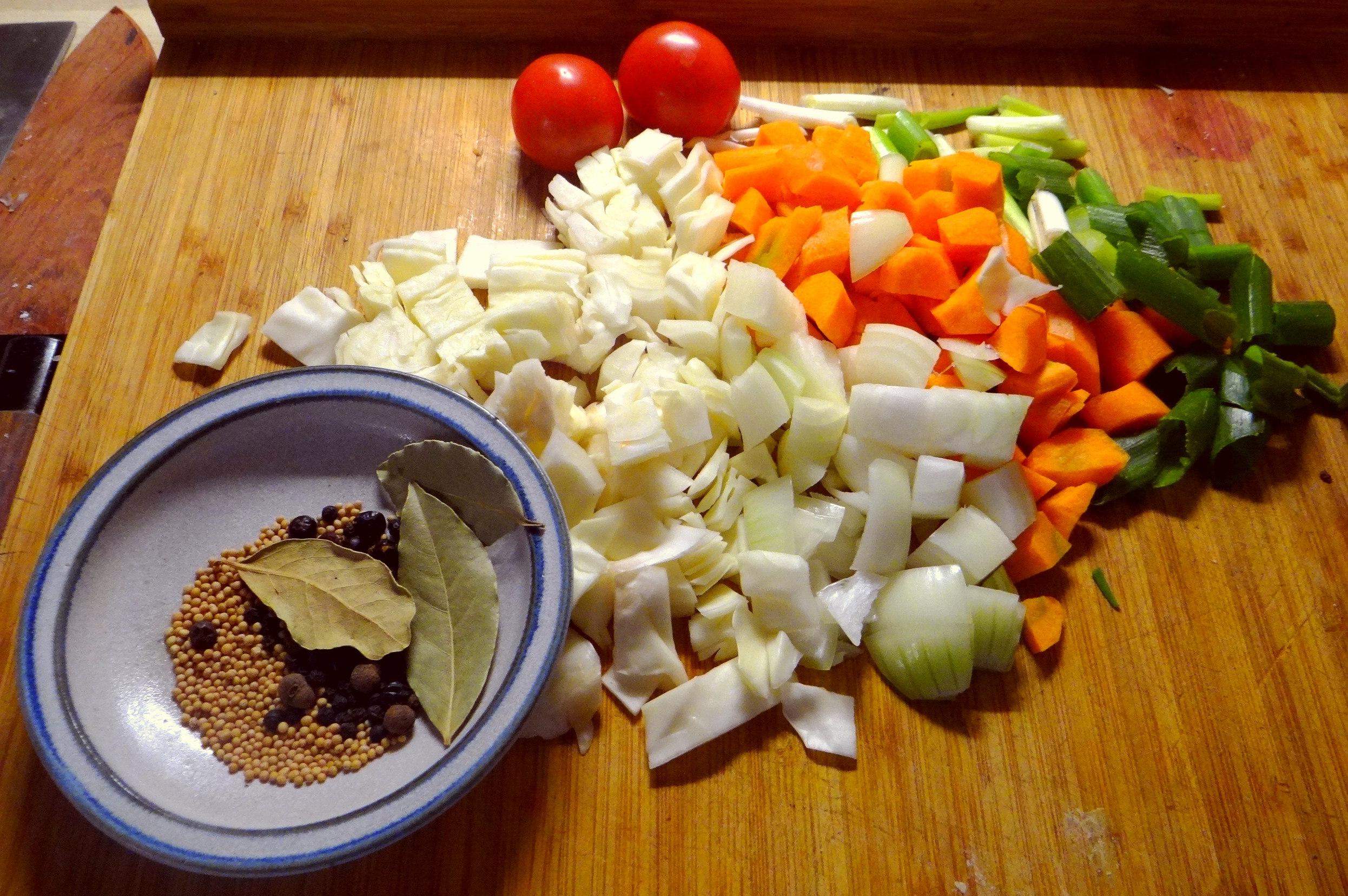 Miesmuscheln,Baguette,Quark-Schlehen Dessert (6)