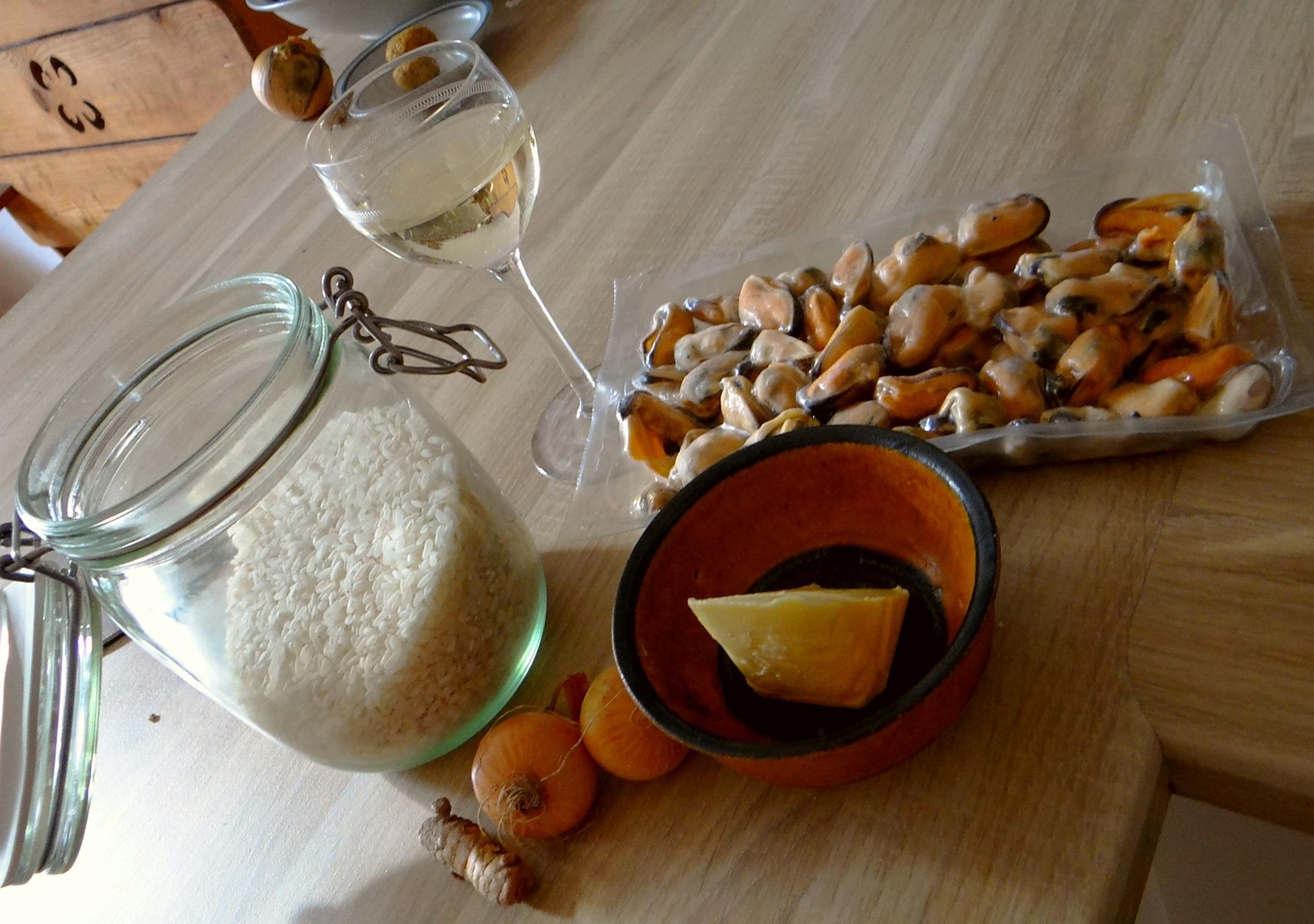 Muschel-Zitronen Risotto (5)