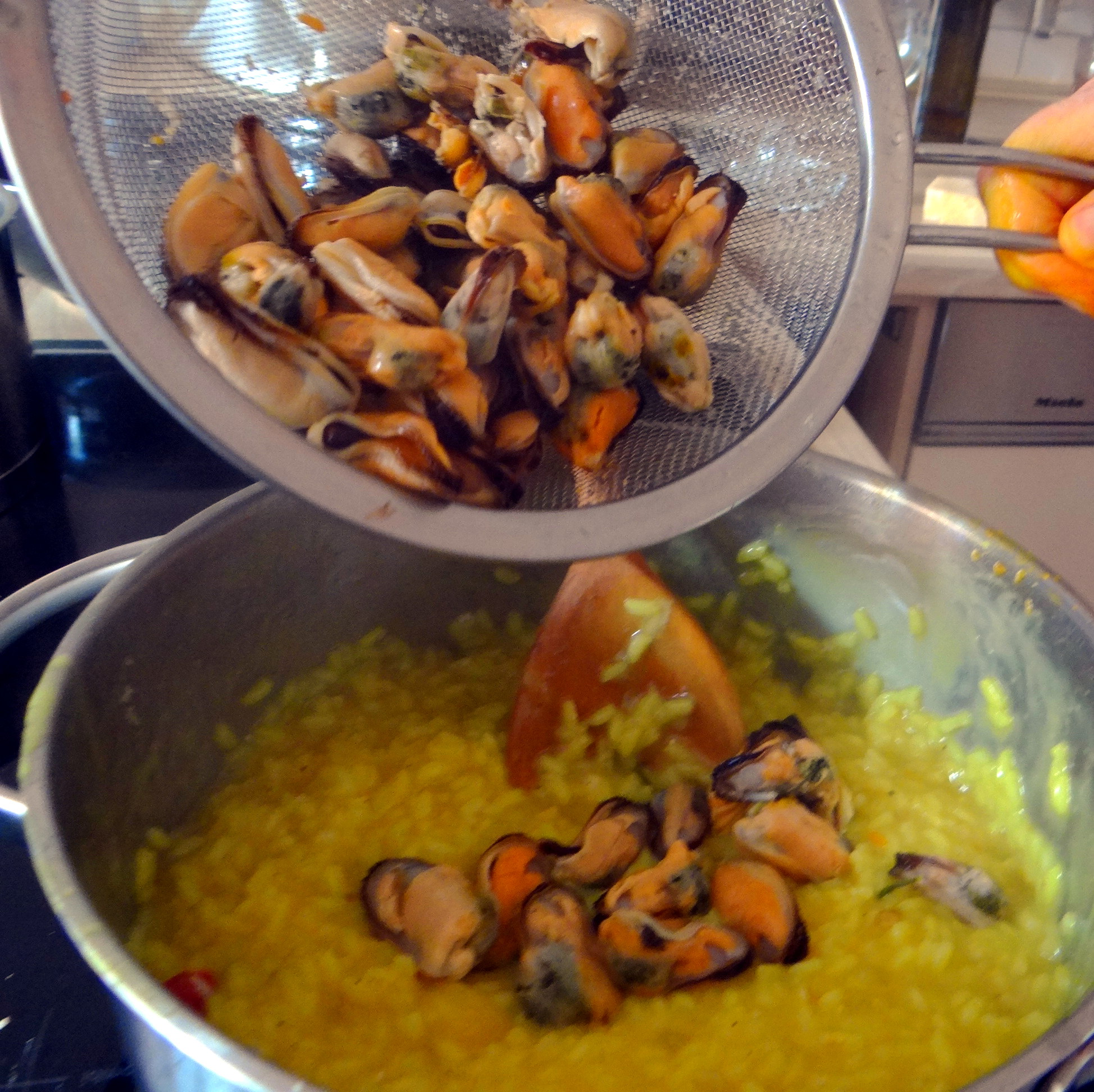Muschel-Zitronen Risotto (9)