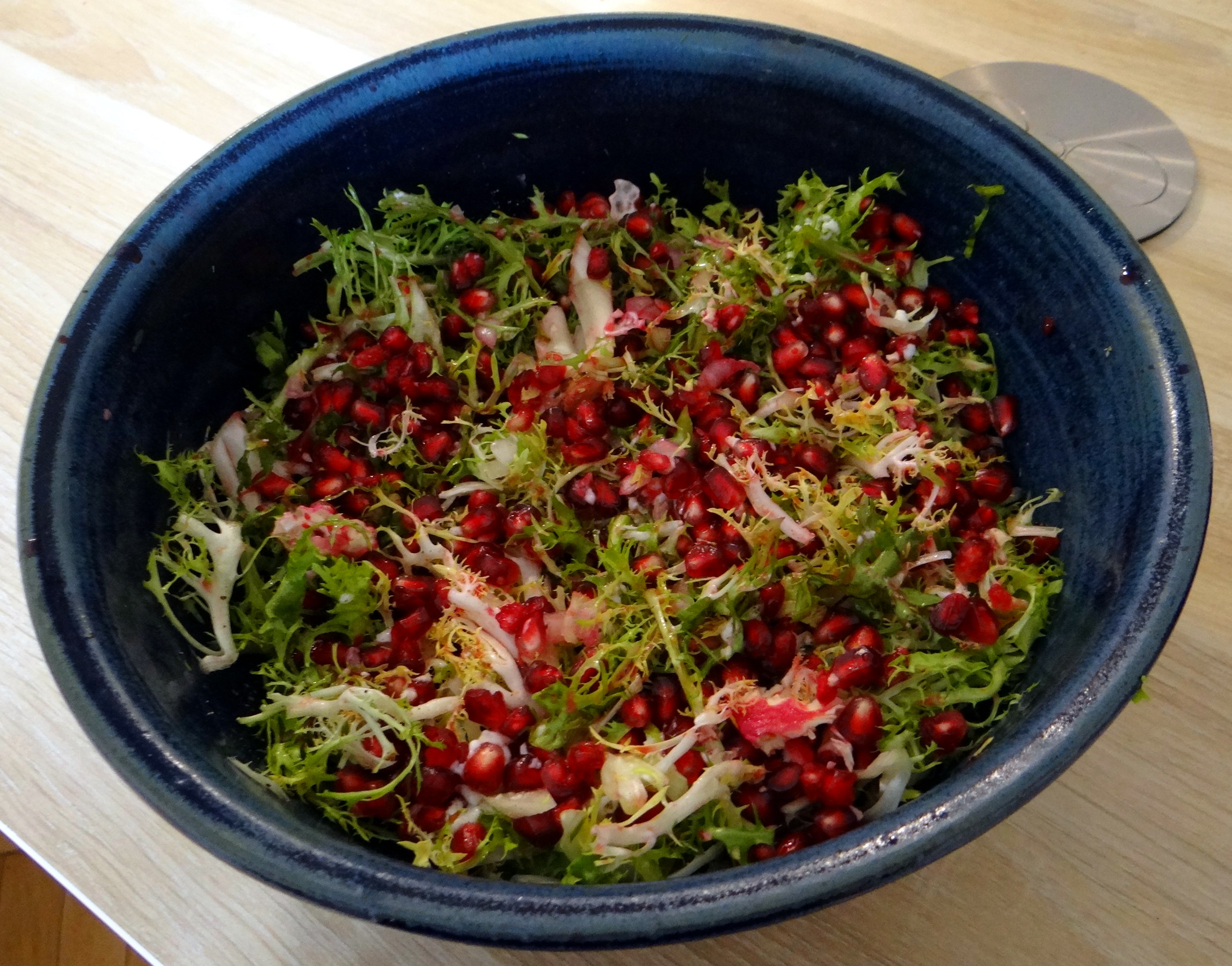 Seidentofu,Frisee Salat,Kartoffel Mix (12)