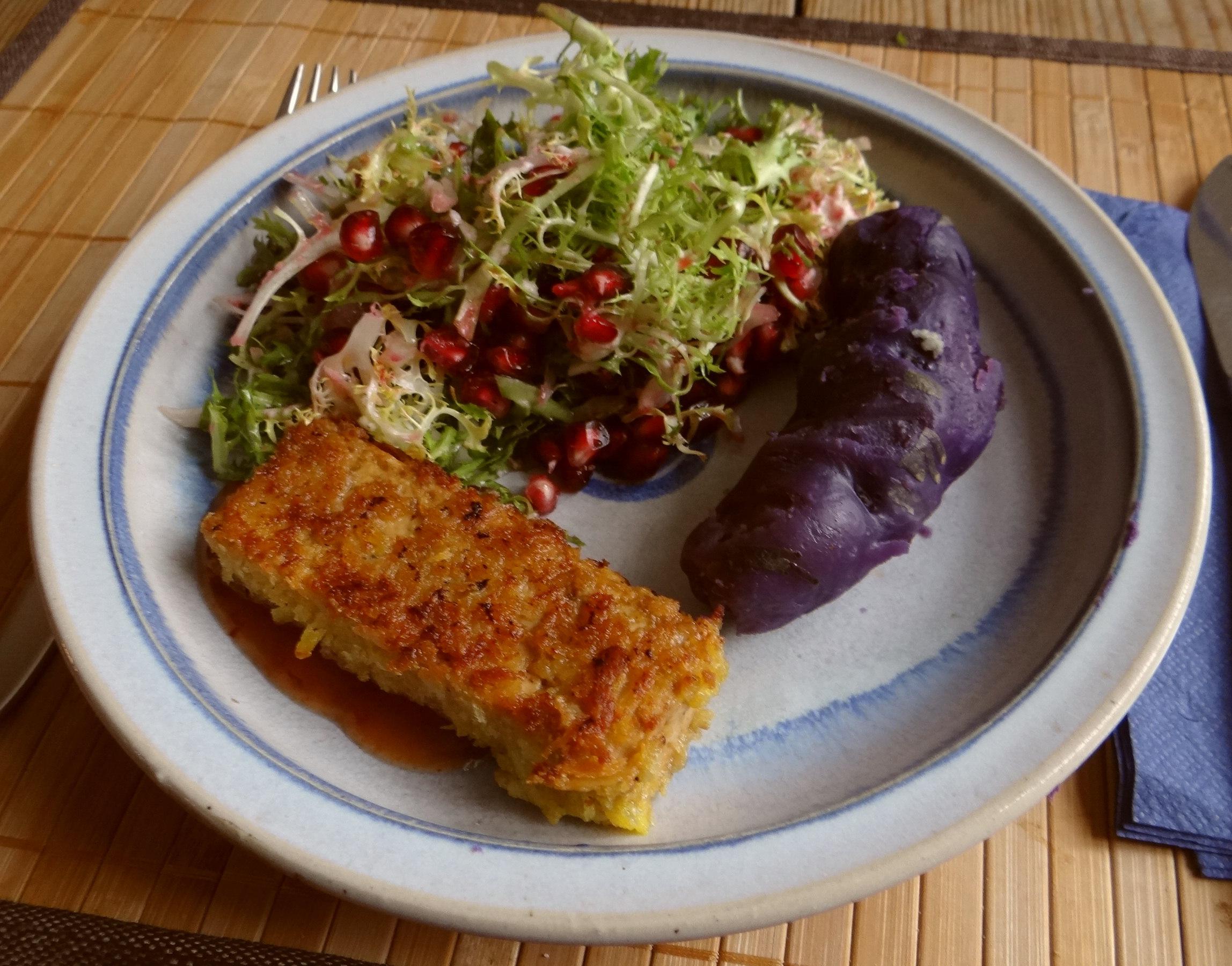 Seidentofu,Frisee Salat,Kartoffel Mix (14)