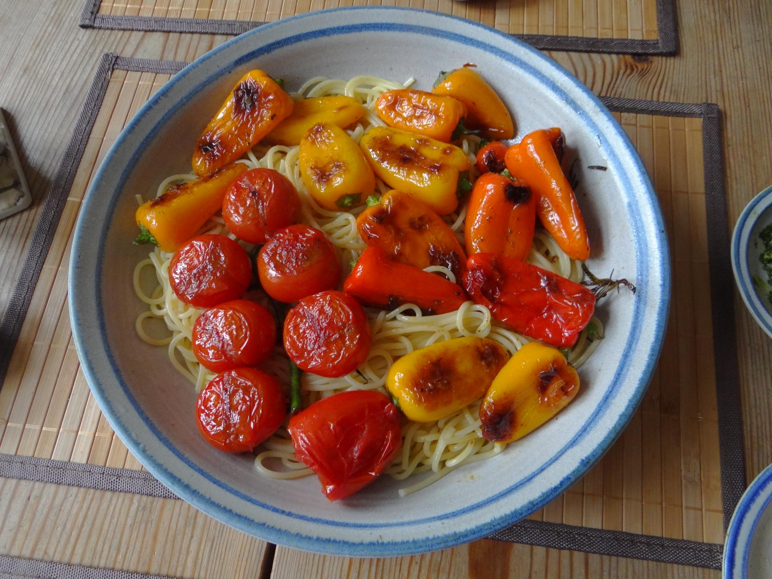 Spaghetti mit Snackpaprika (14)