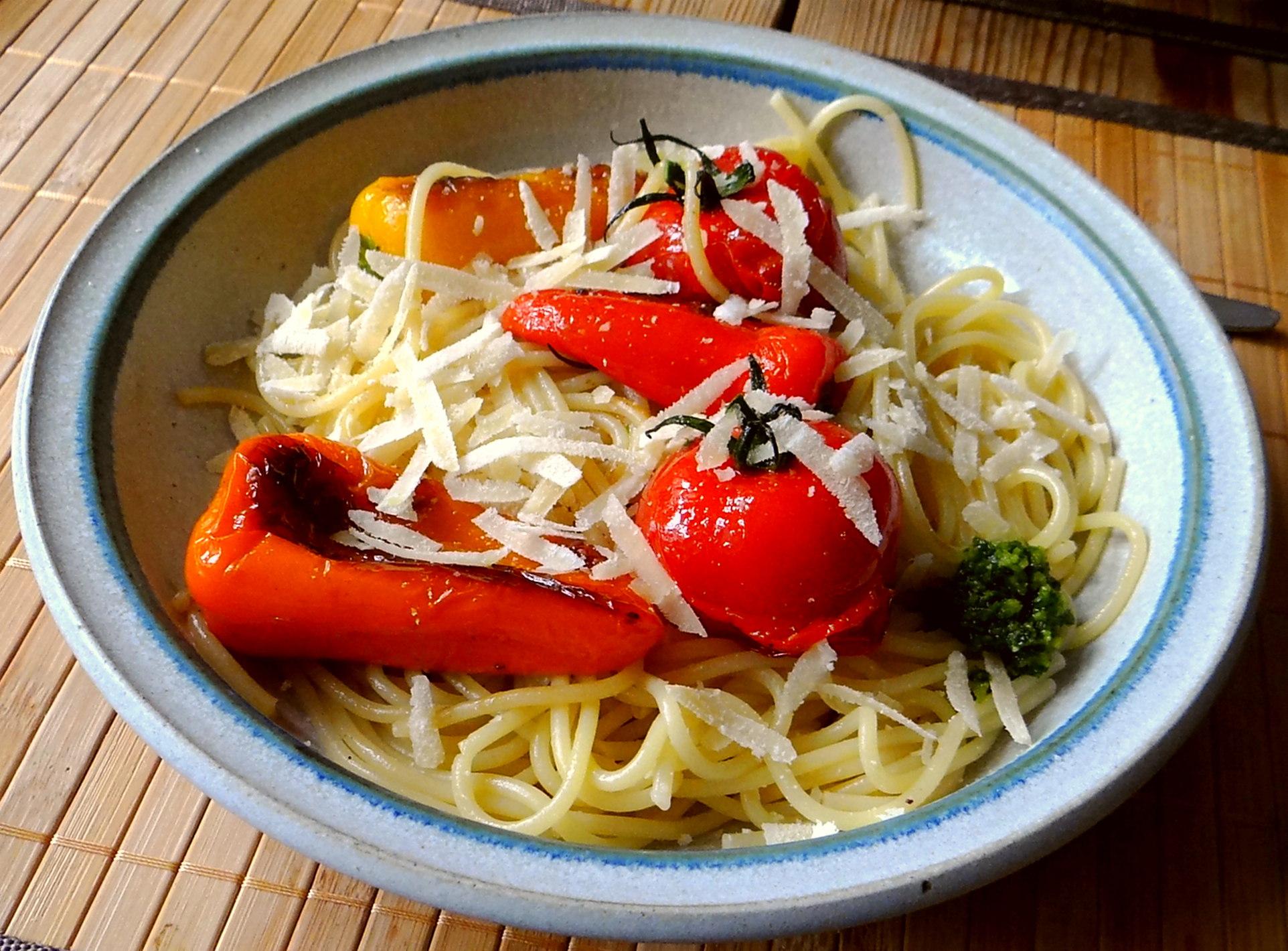 Spaghetti mit Snackpaprika (15)