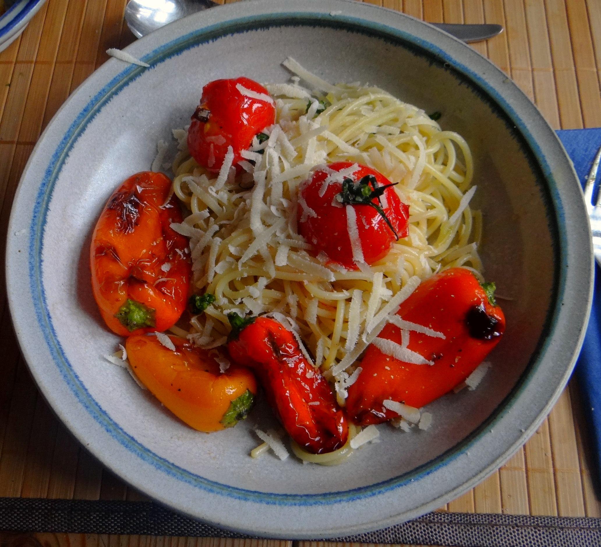 Spaghetti mit Snackpaprika (16)