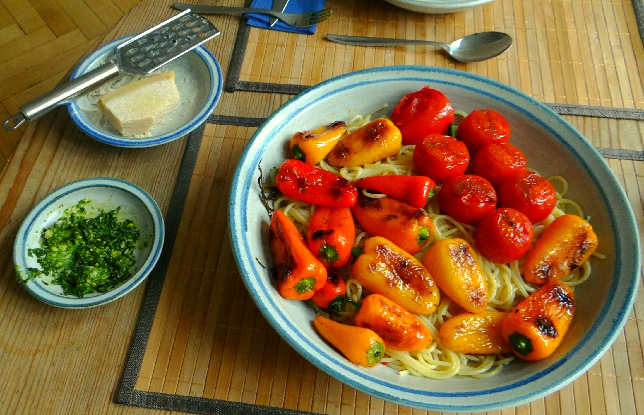 Spaghetti mit Snackpaprika (5)