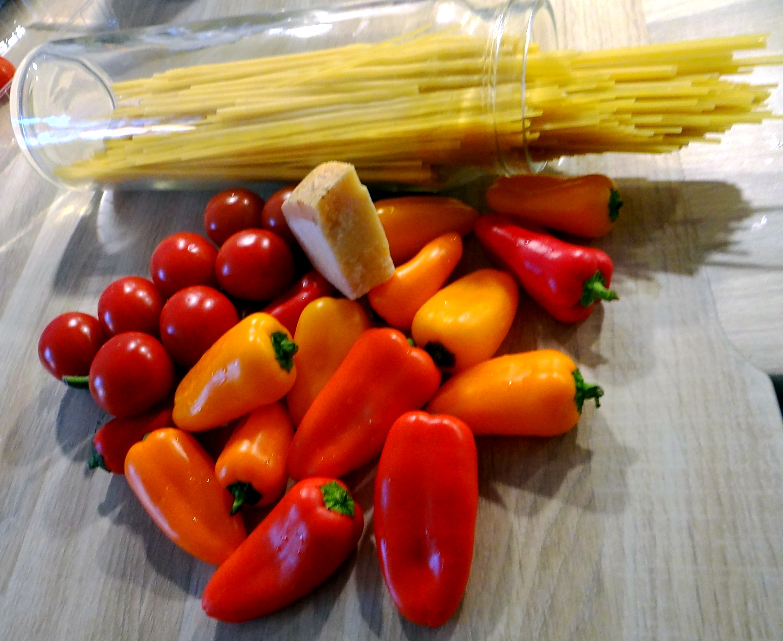 Spaghetti mit Snackpaprika (6)