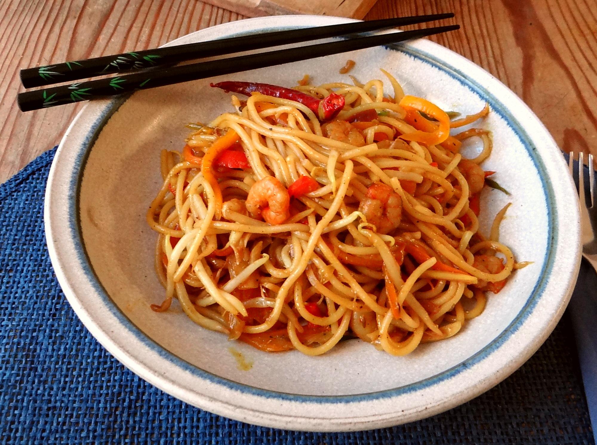 Asiatische Shrimpspfanne (20)