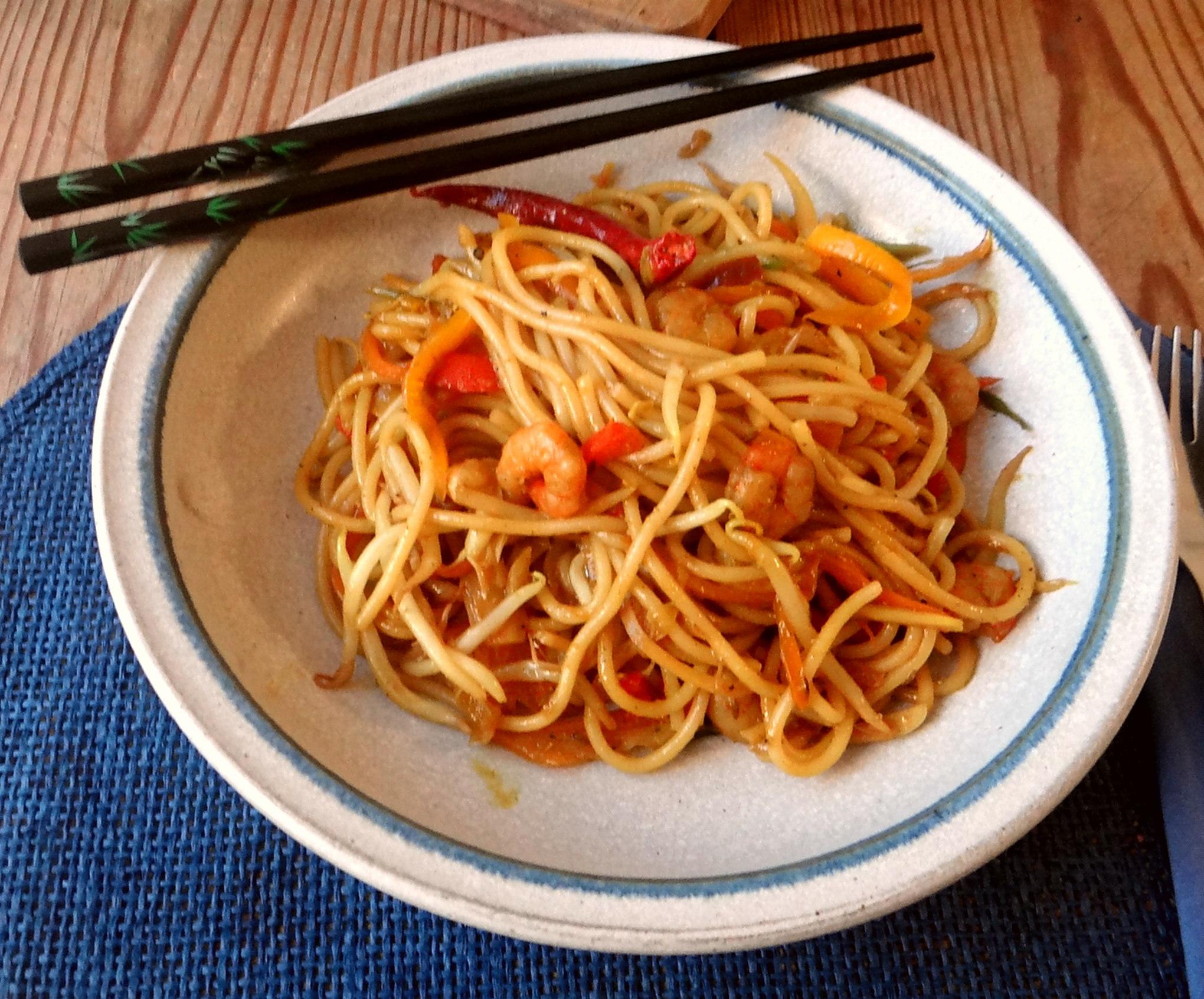 Asiatische Shrimpspfanne (3)