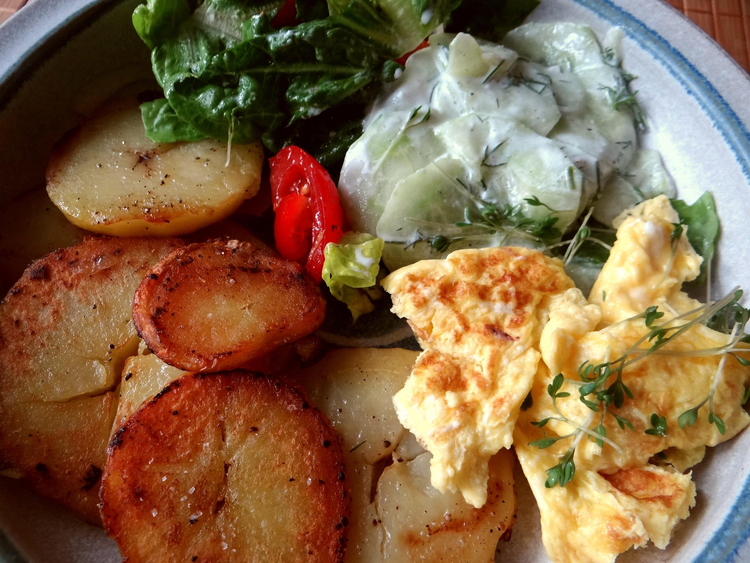 Bratkartoffel mit Rührei (3)