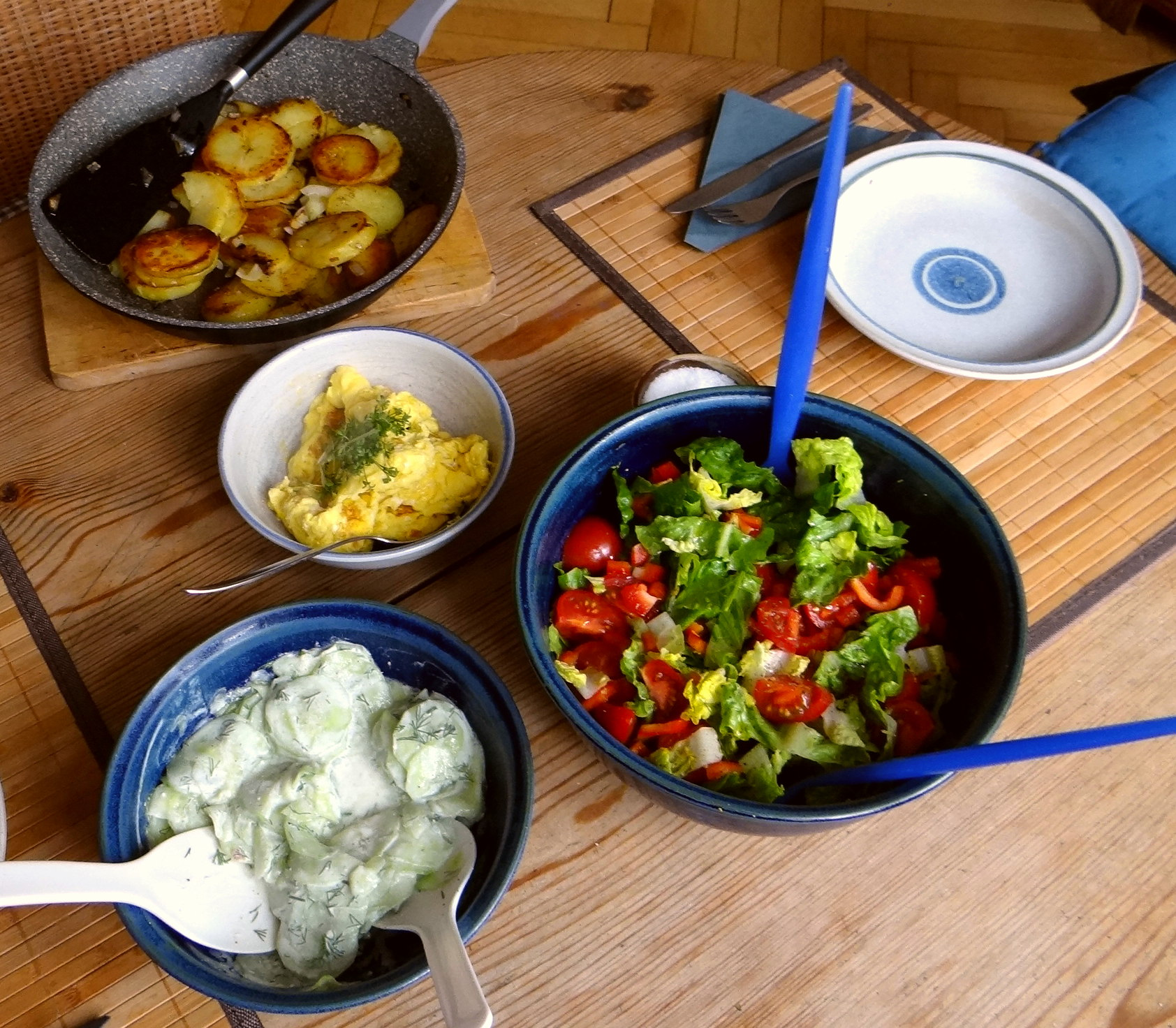 Bratkartoffel mit Rührei (4)
