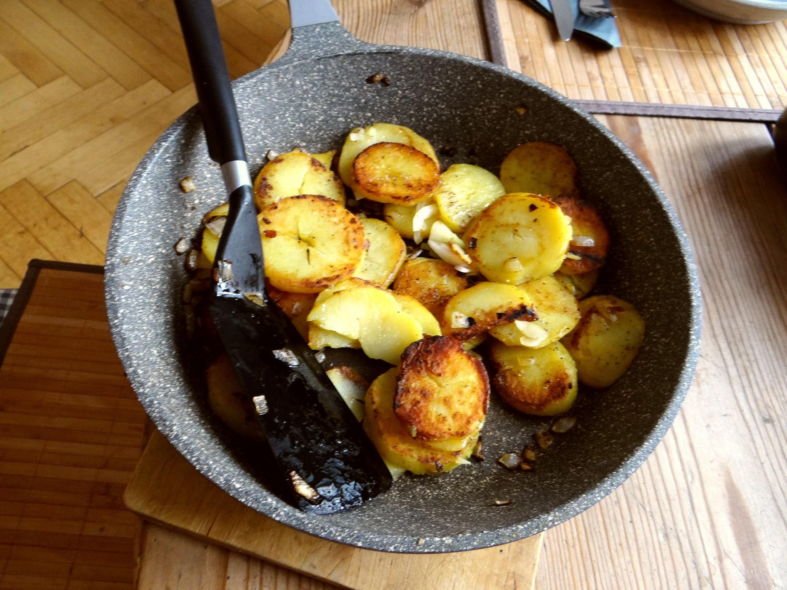 Bratkartoffel mit Rührei (8)