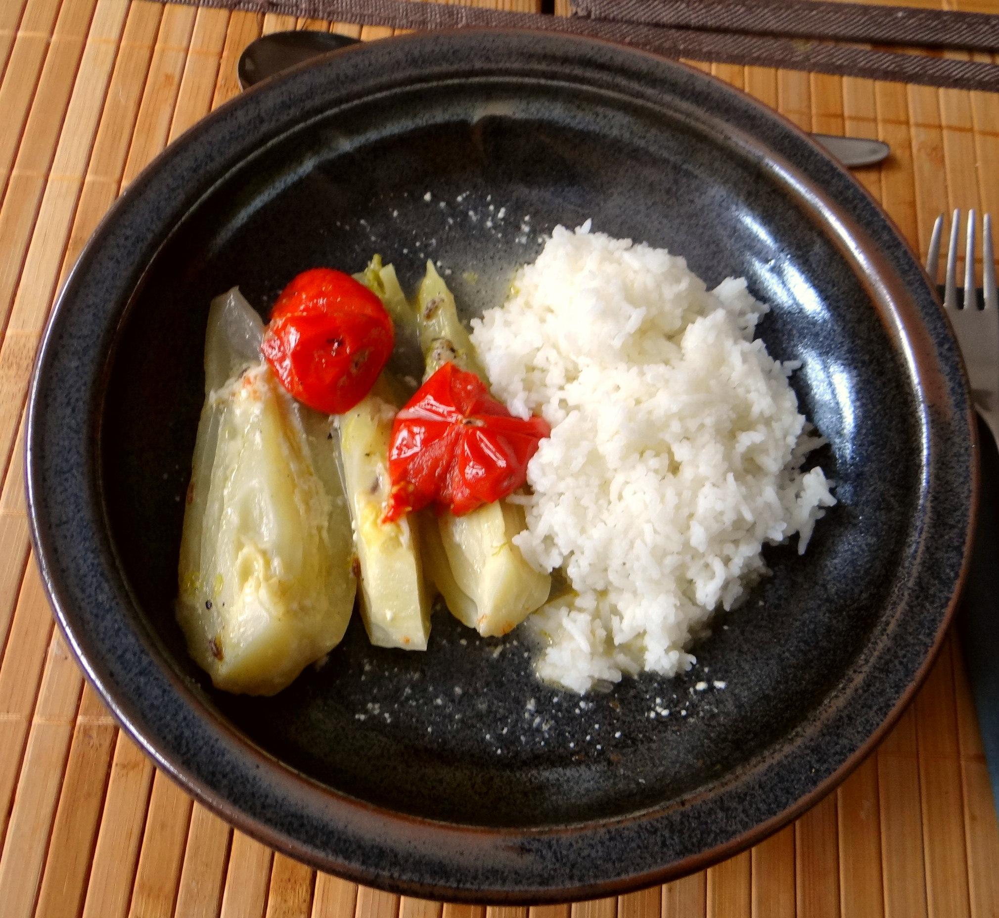 Fenchel,Tomate,Wein,RiiJii Reis,Obstsalat (2)