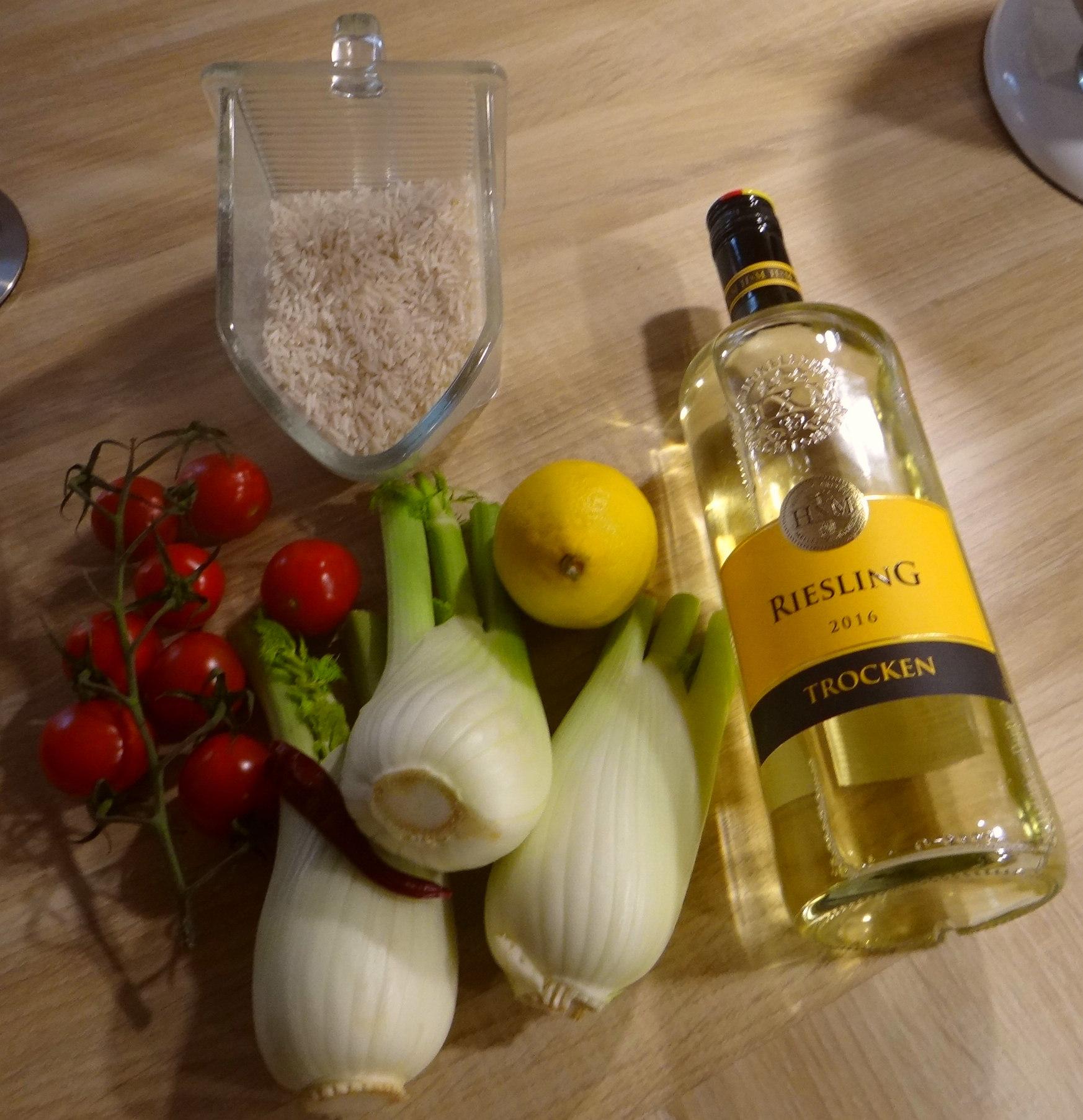 Fenchel,Tomate,Wein,RiiJii Reis,Obstsalat (5)