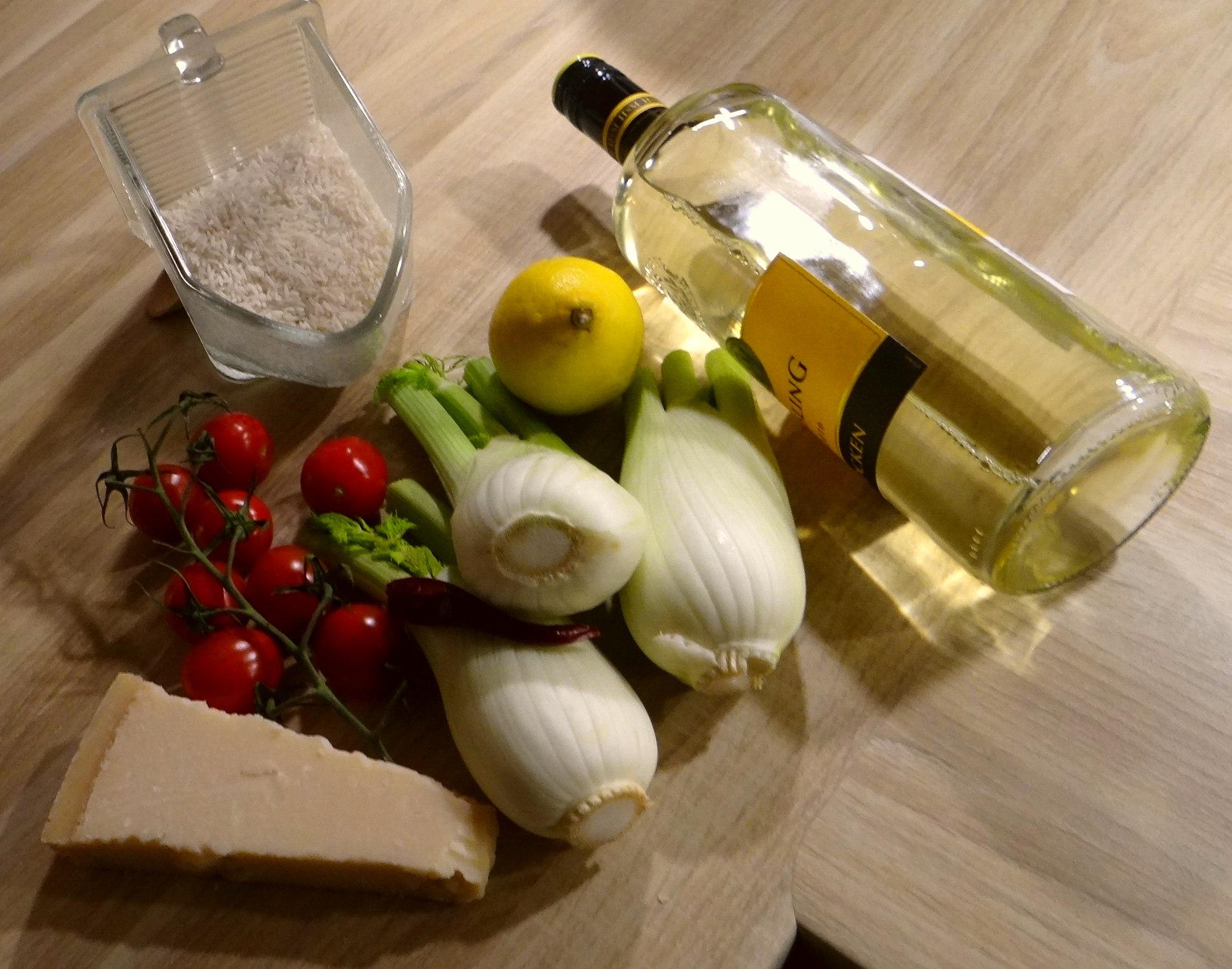Fenchel,Tomate,Wein,RiiJii Reis,Obstsalat (6)