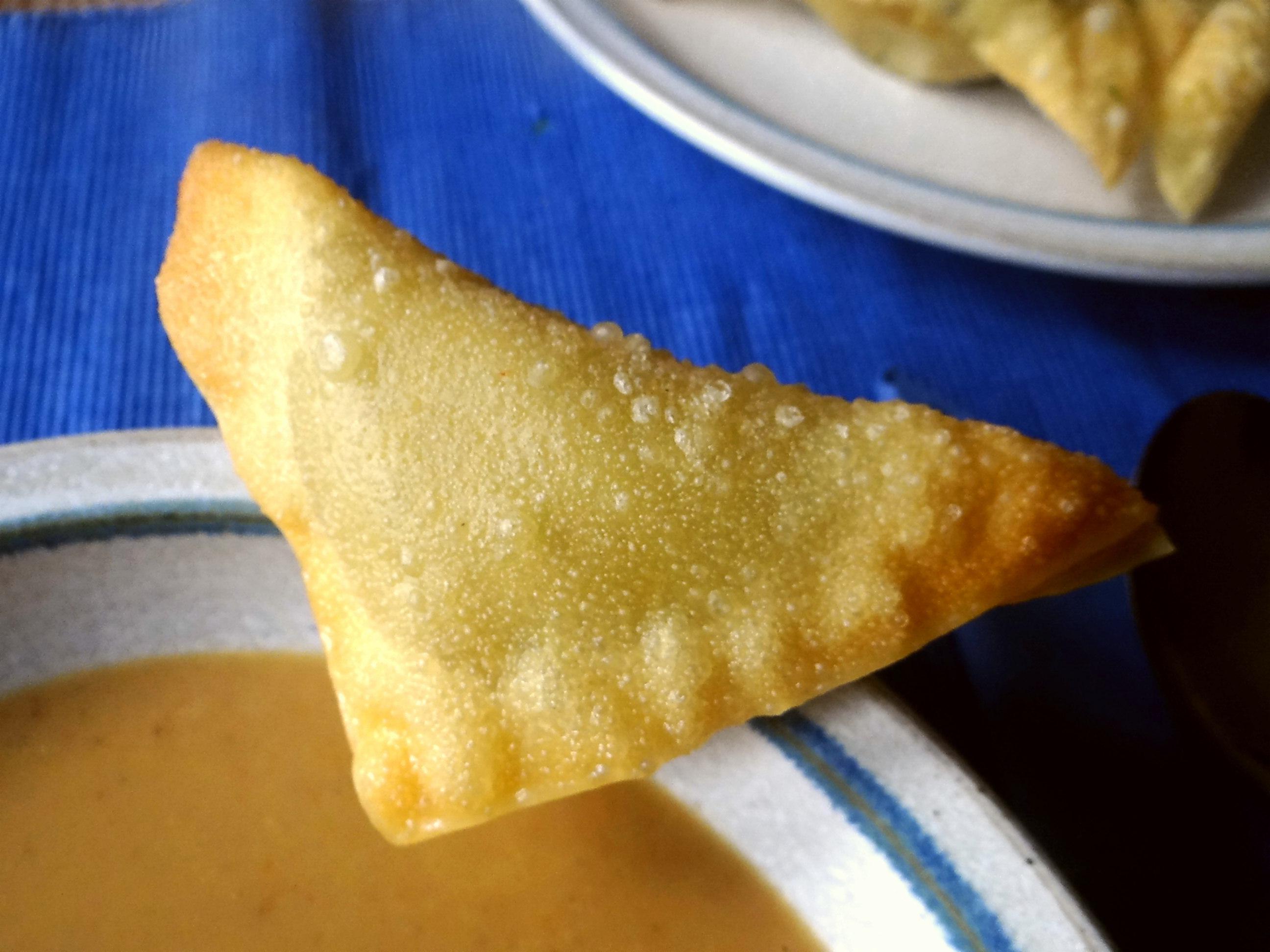 Maronensuppe,Teigtaschen,Wan Tan (3)