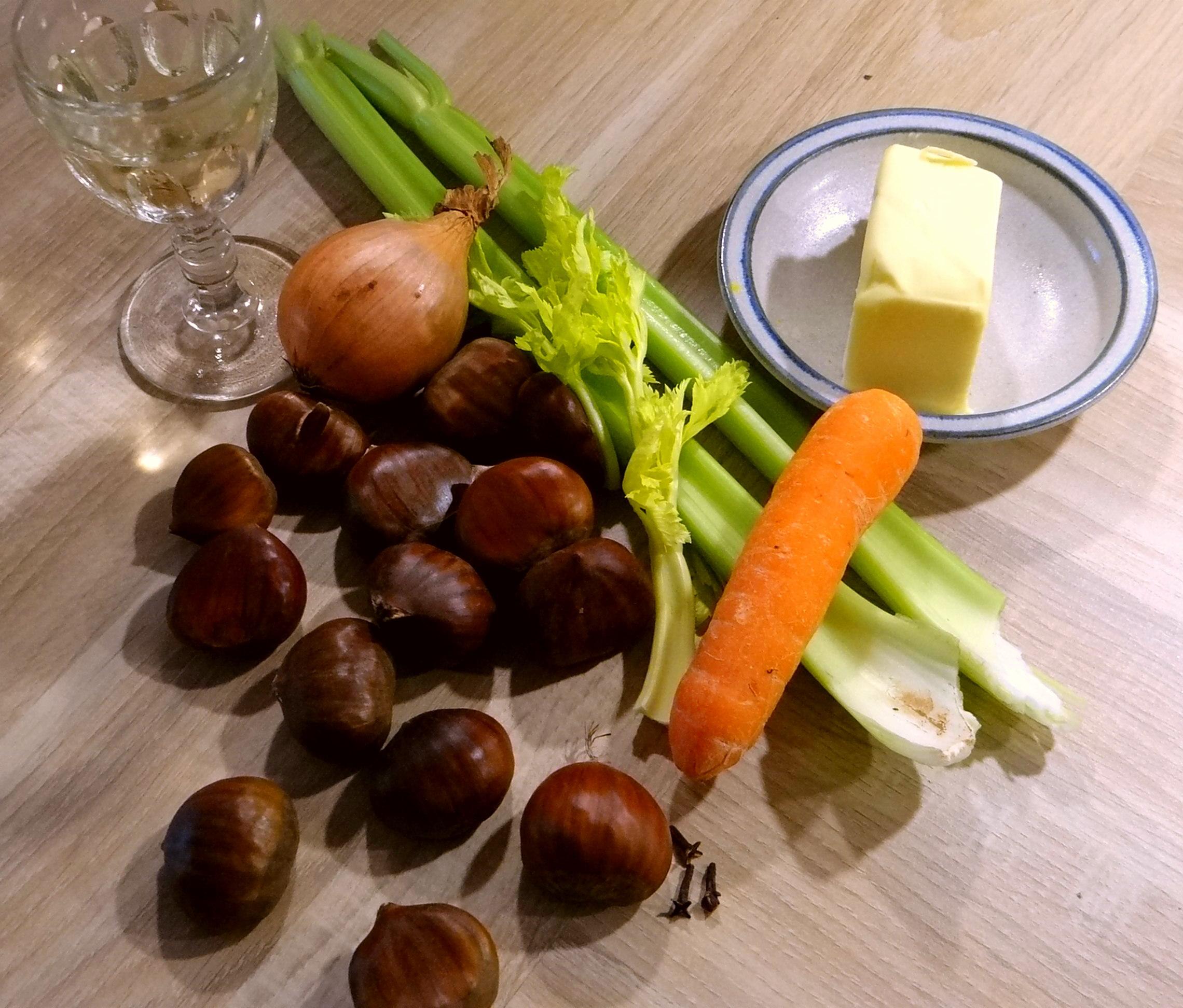 Maronensuppe,Teigtaschen,Wan Tan (5)