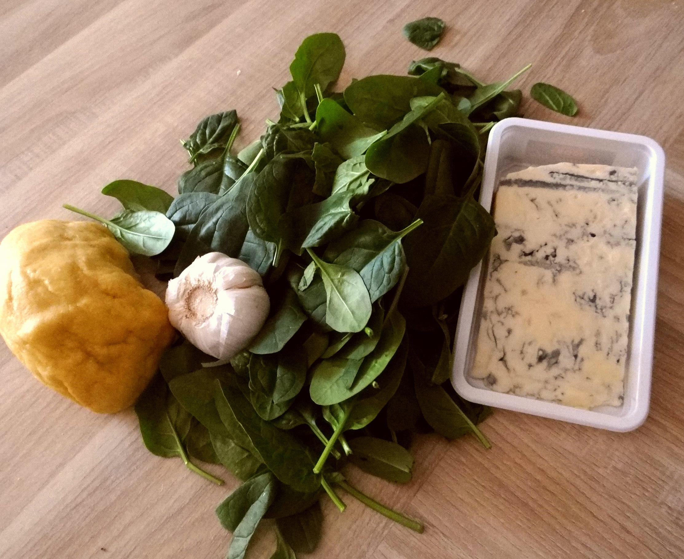 Nudeln,Spinat,Gorgonzola (5)