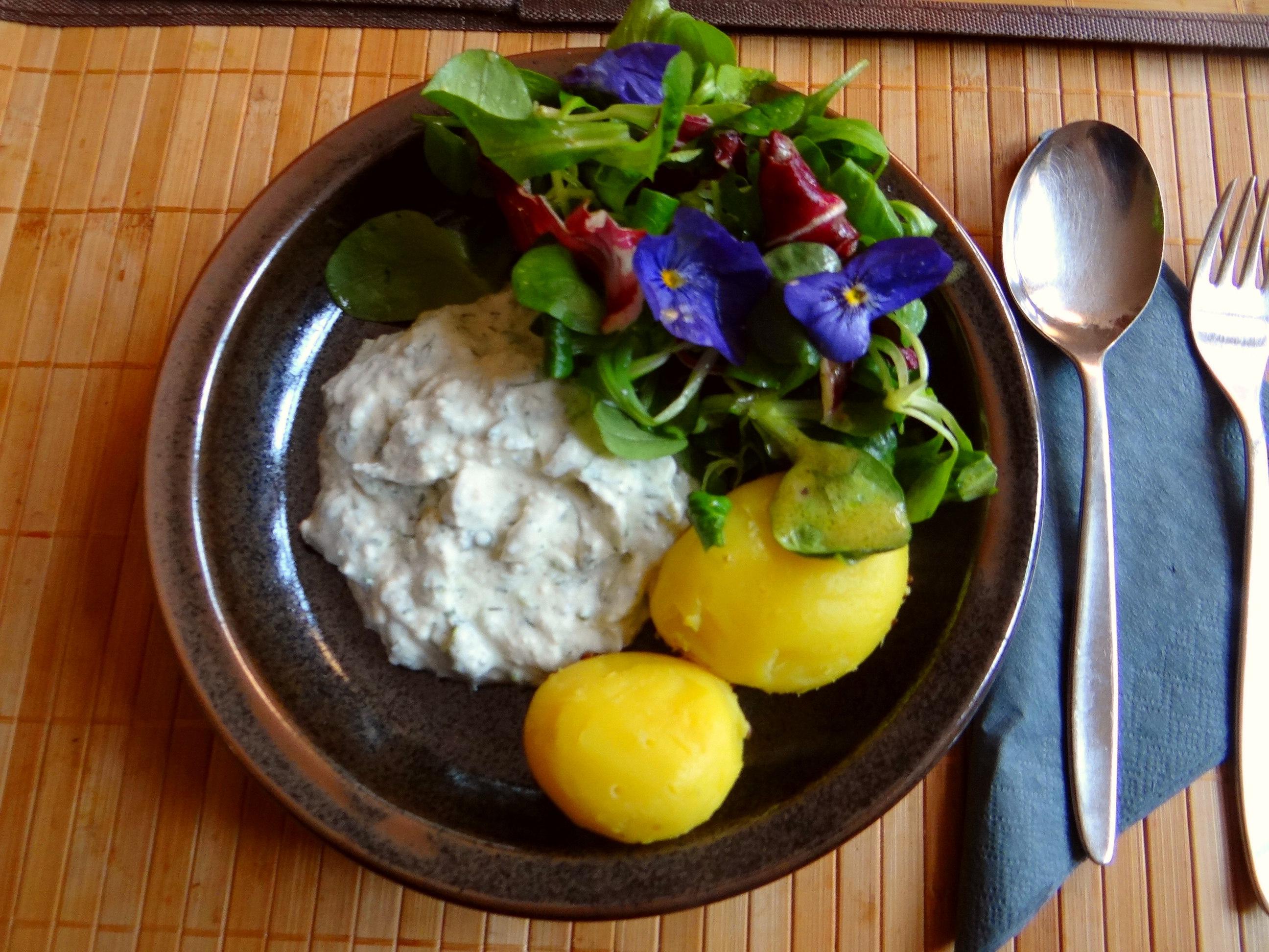Quark und bunter Salat (12)