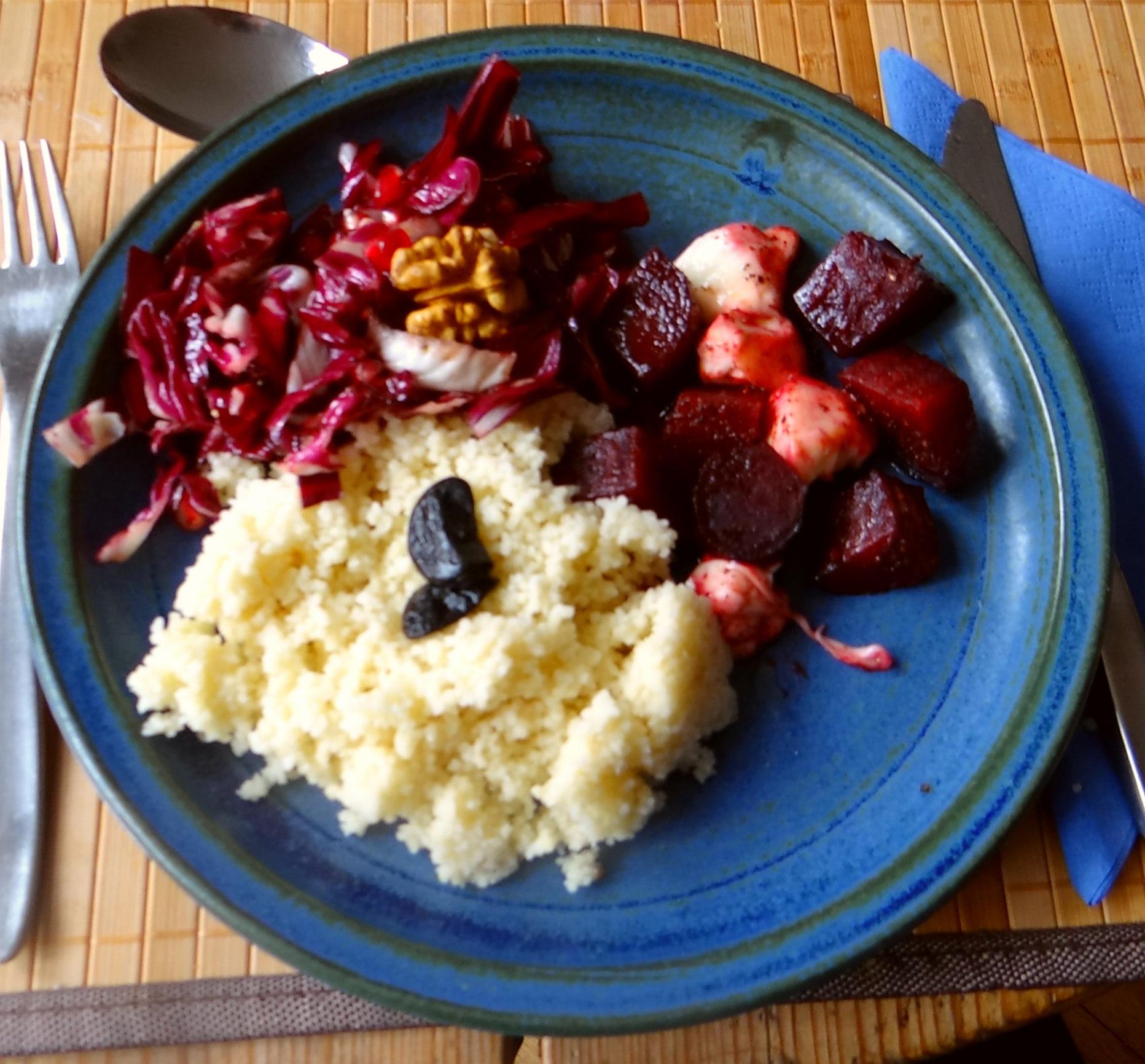 Rote Beete,Radicchio,Couscous (1)