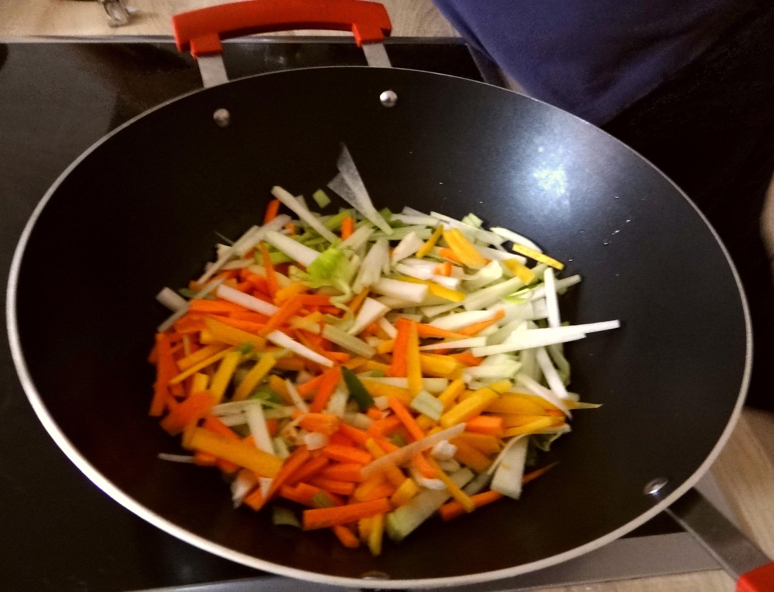 Asiatisches Gemüse mit Garnelen (11)